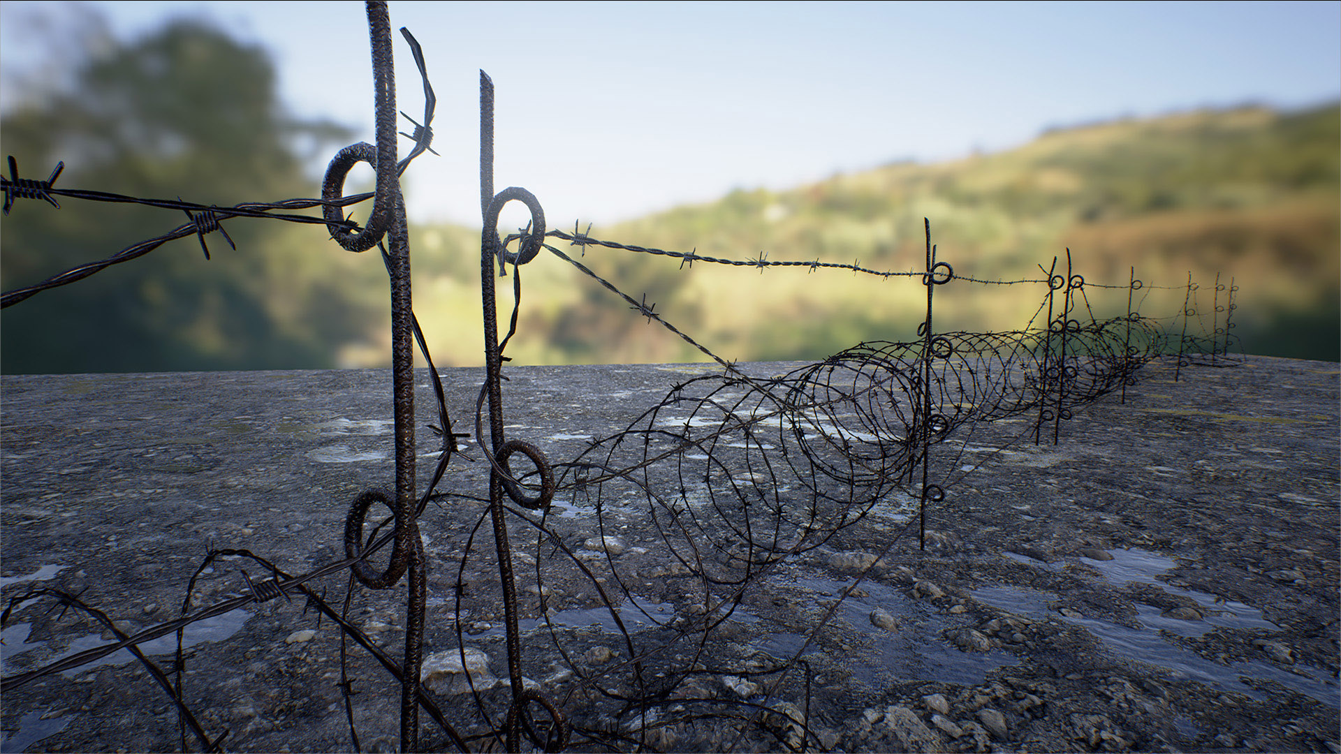 Water Can Barbed Wire Center Circuit Board Stock Images Image 31188634 Pack By Mountain Trail In Props Ue4 Marketplace Rh Unrealengine Com Types Of