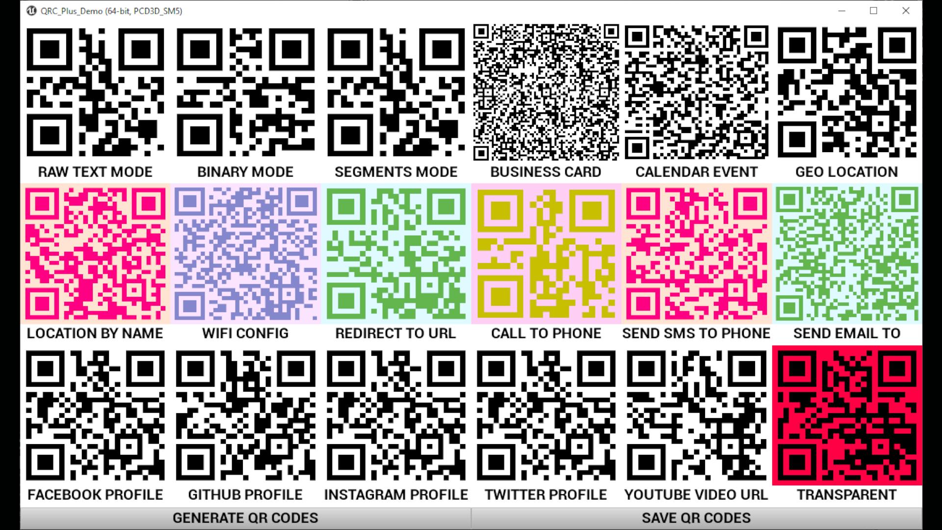 QRC Plus by VINMAR Studios in Code Plugins - UE4 Marketplace
