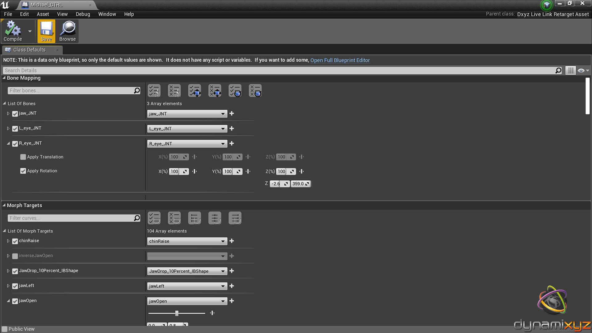 Dynamixyz Live Link Plugin by Dynamixyz in Code Plugins - UE4