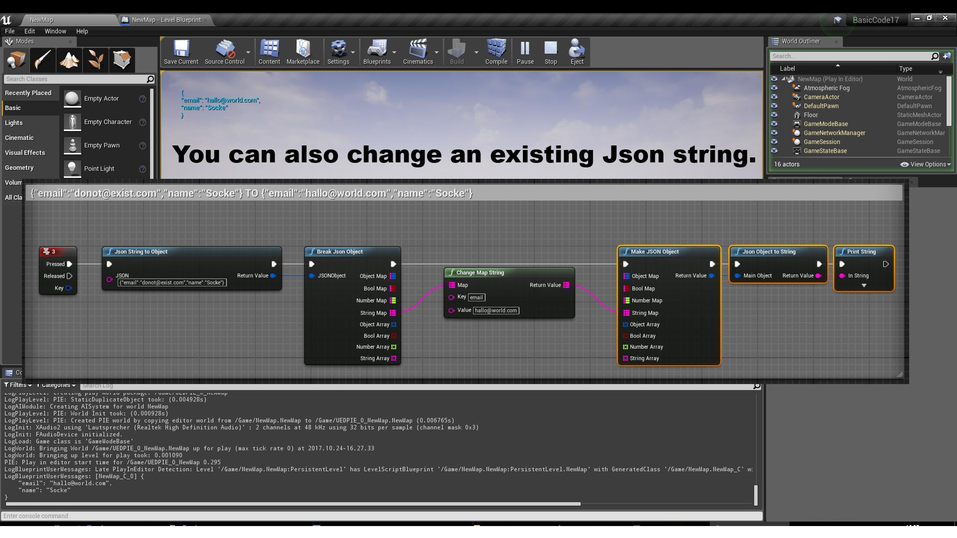JSONParser by Socke in Code Plugins - UE4 Marketplace
