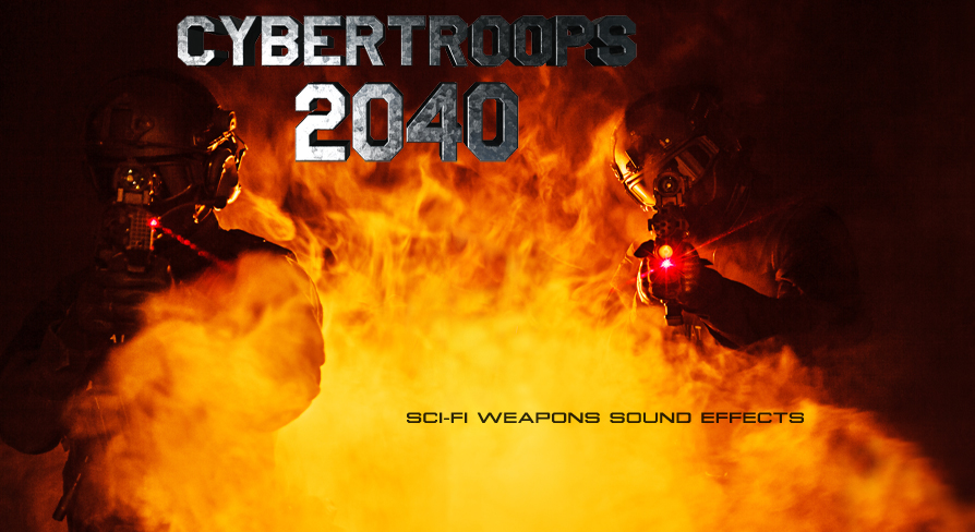 Sci-Fi Weapons - Laser Guns - CyberTroops 2040 by Sound