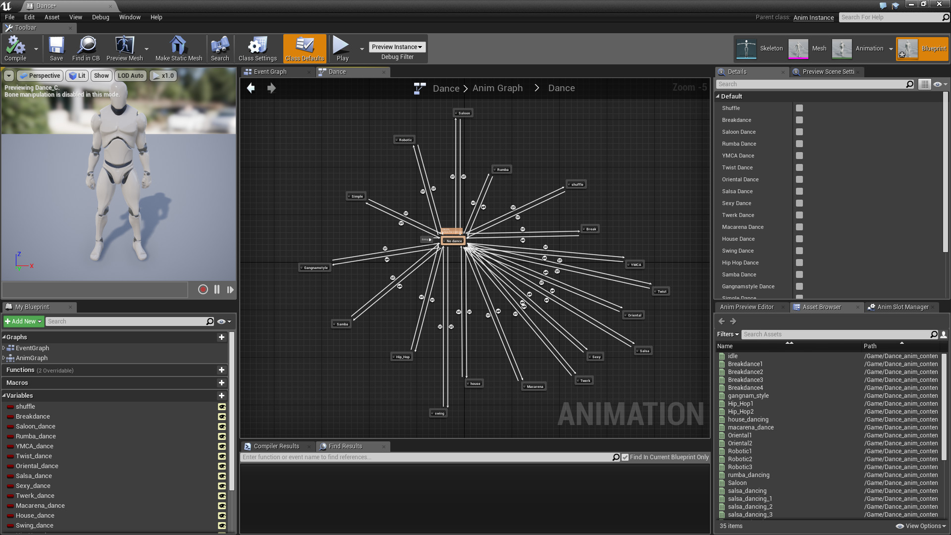 Dances animations pack by terribilis studio in animations ue4 share malvernweather Gallery