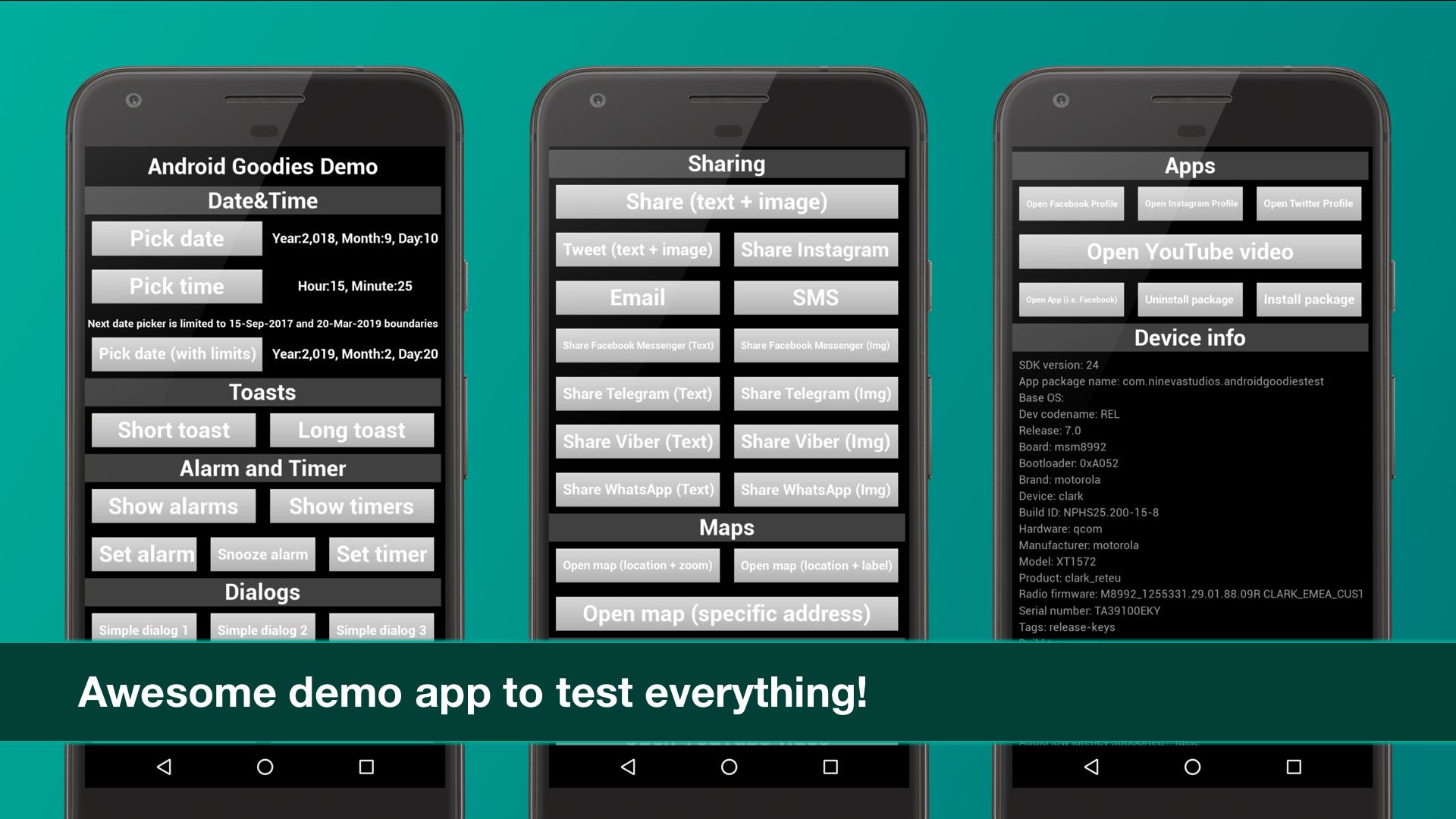Android Native Goodies by Nineva Studios in Code Plugins