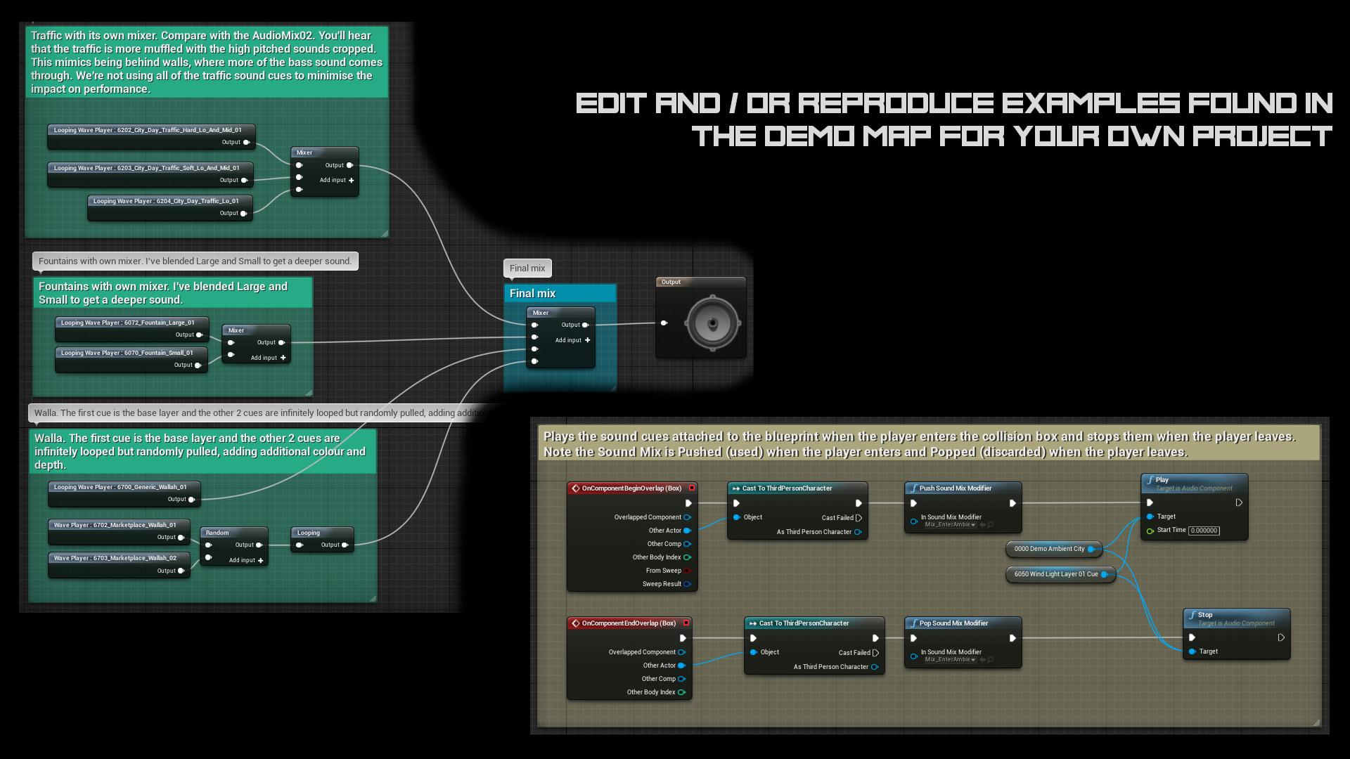Ambient Mixer cyberpunk city sound packvalkyrie sound in sound effects