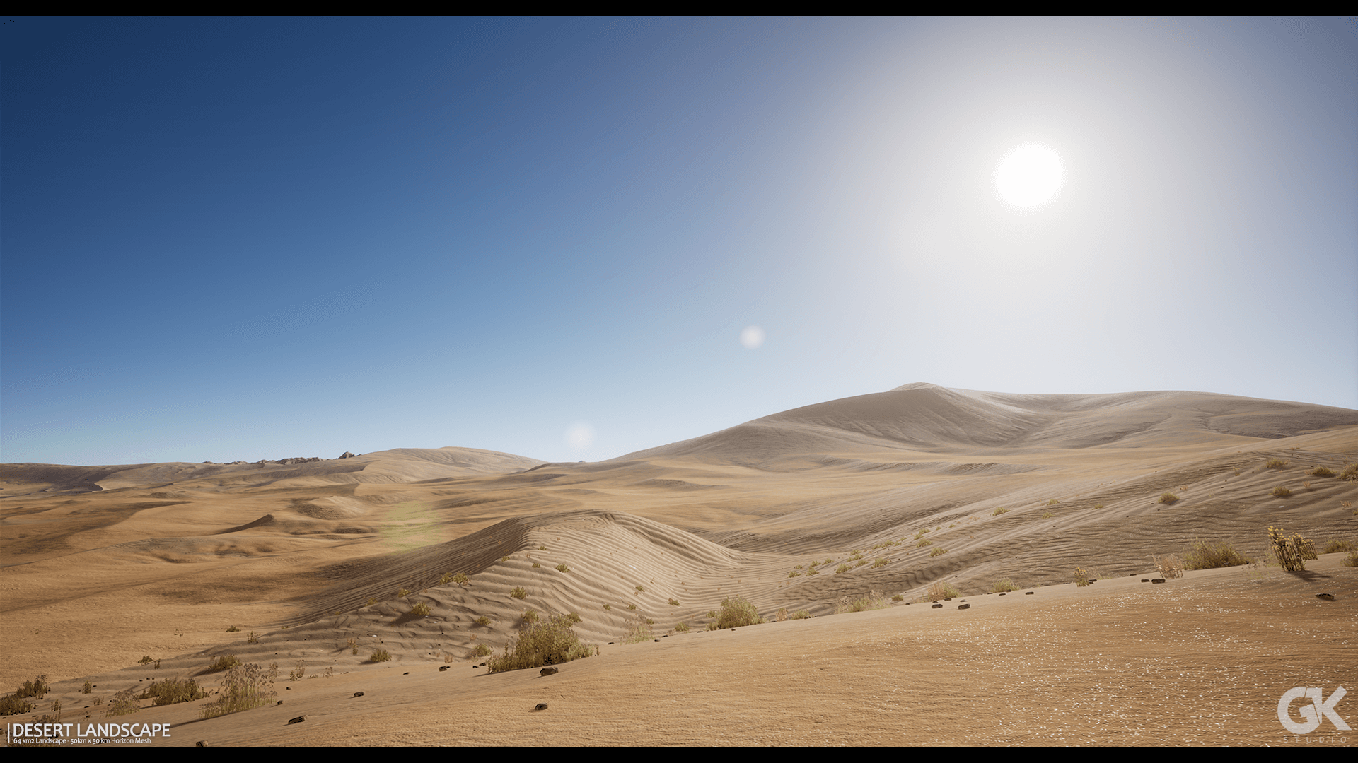 Desert Landscape by Gokhan Karadayi in Environments - UE4 ...