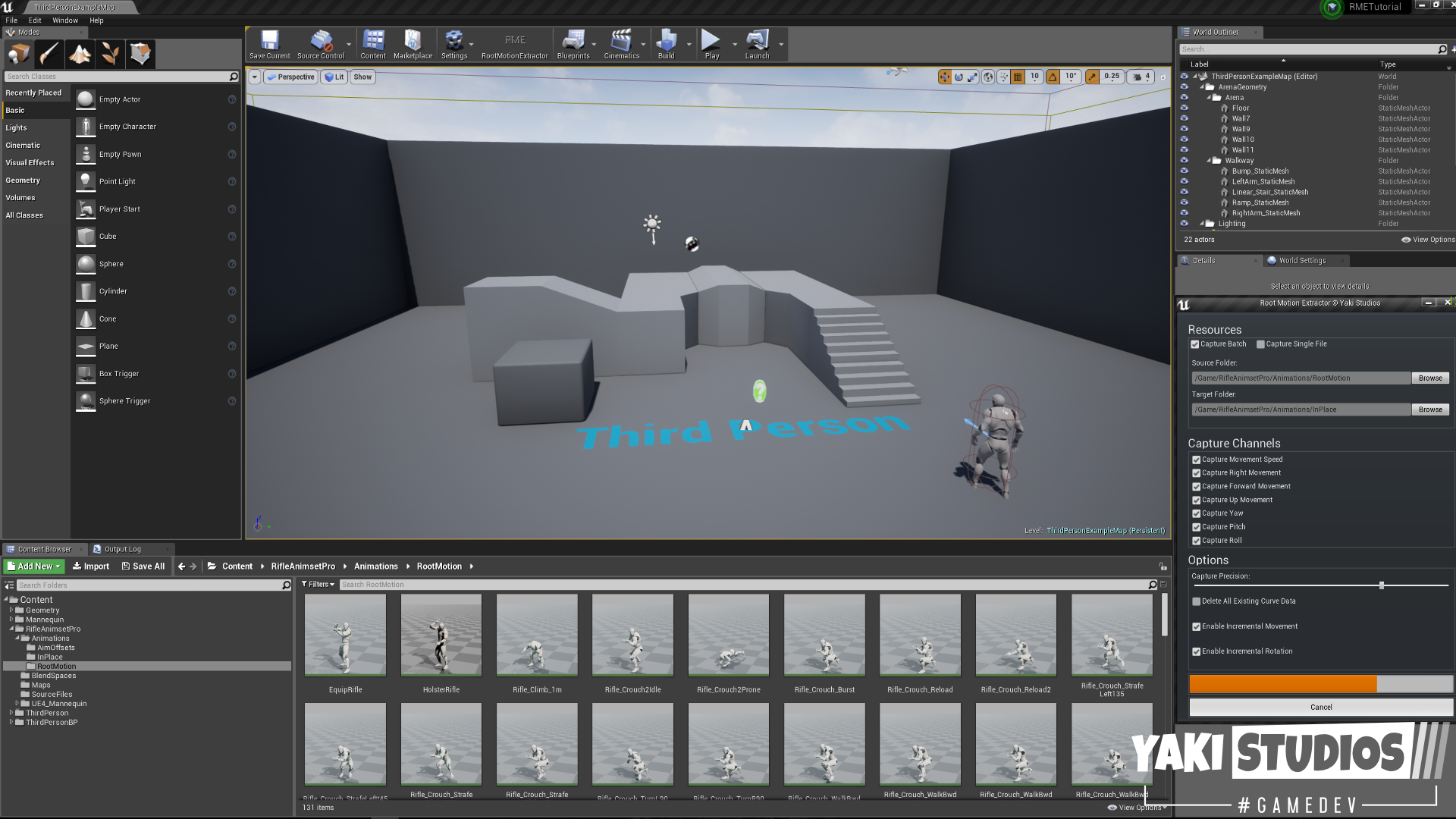Root Motion Extractor by Yaki Studios in Code Plugins - UE4
