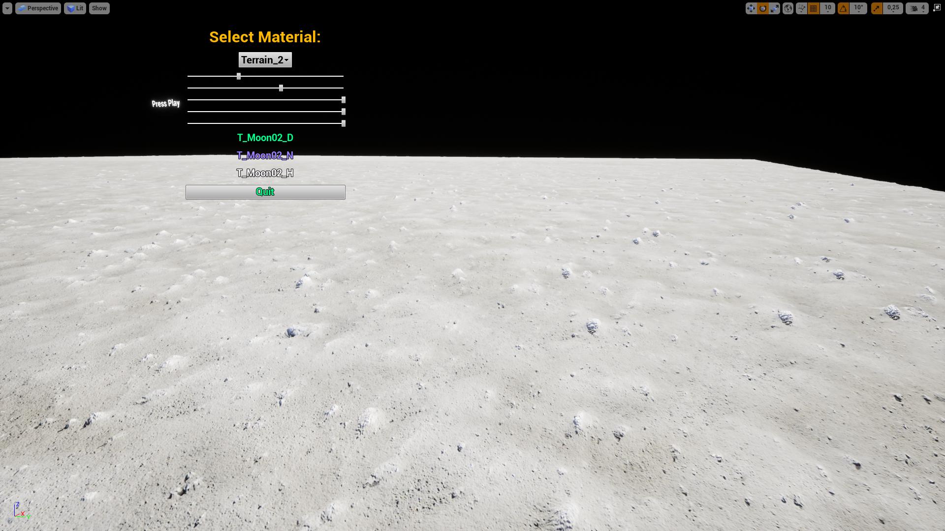 Moon Realistic Textures 4k by ZerstorenGames in Textures - UE4