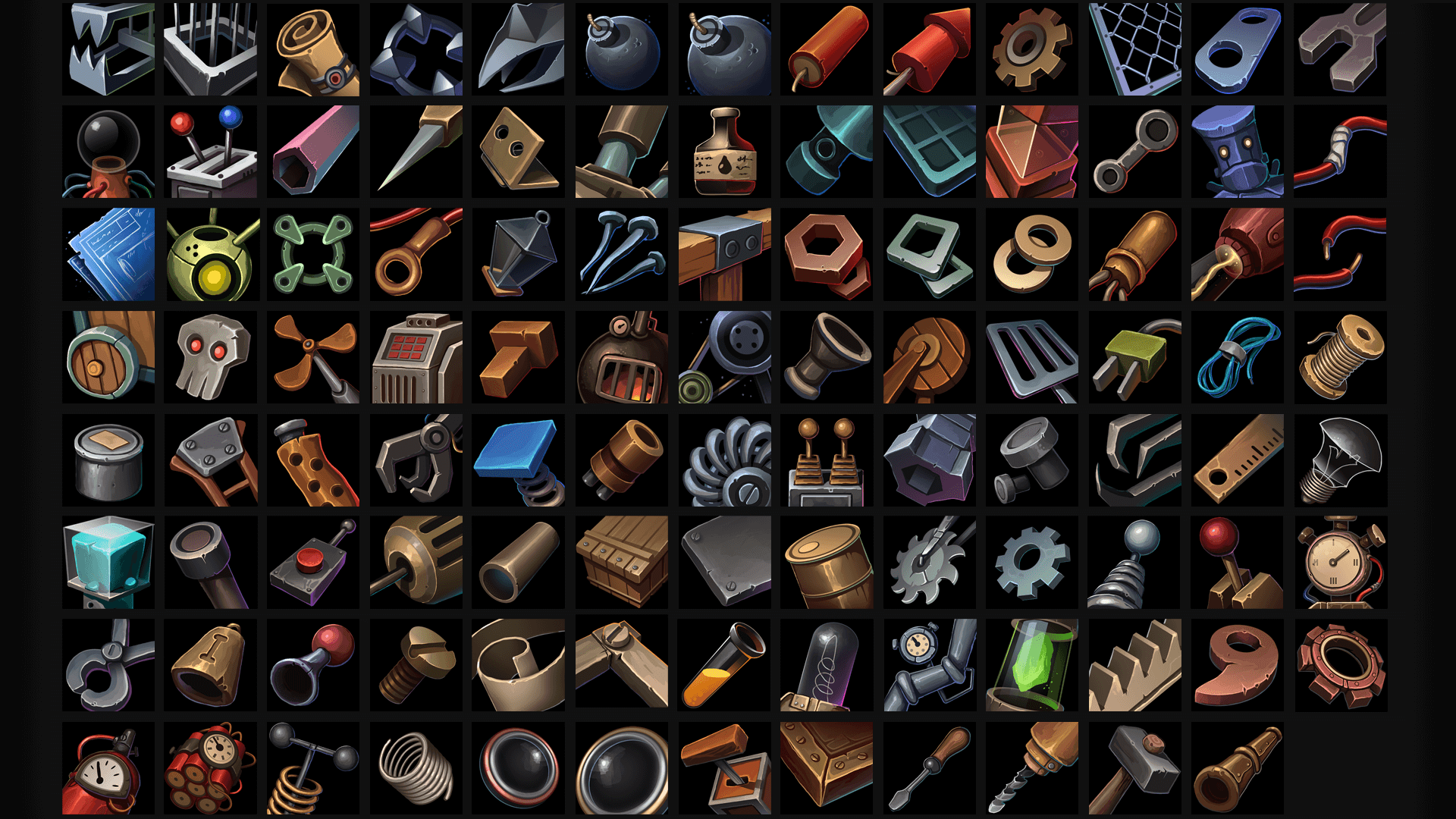 Fantasy Icons Megapack by REXARD in 2D Assets - UE4 Marketplace