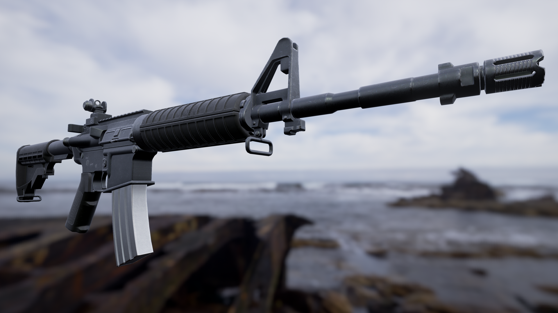 FPS Weapon Bundle by Deadghost Interactive in Weapons - UE4