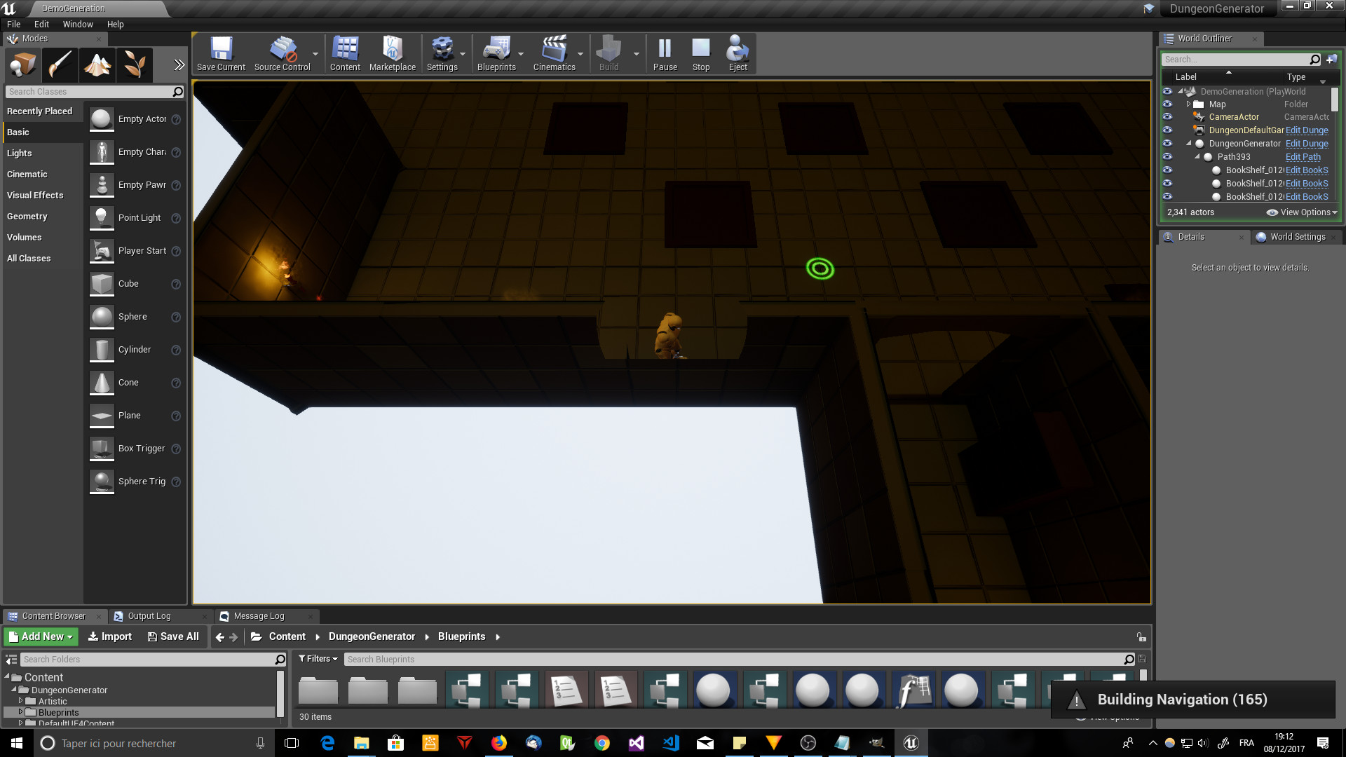 dungeon generator by florianlequertier in blueprints ue4 rooms in spalding rooms in selby