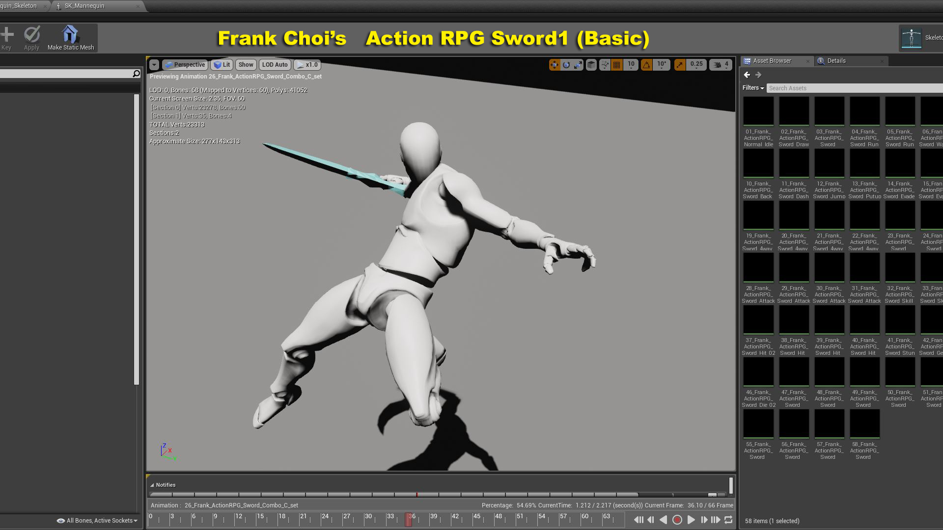 Biped Animation Pack