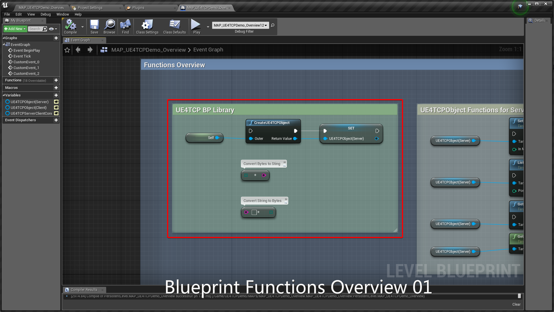 UE4TCP (TCP Feature For UE4) by LiamLewis in Code Plugins