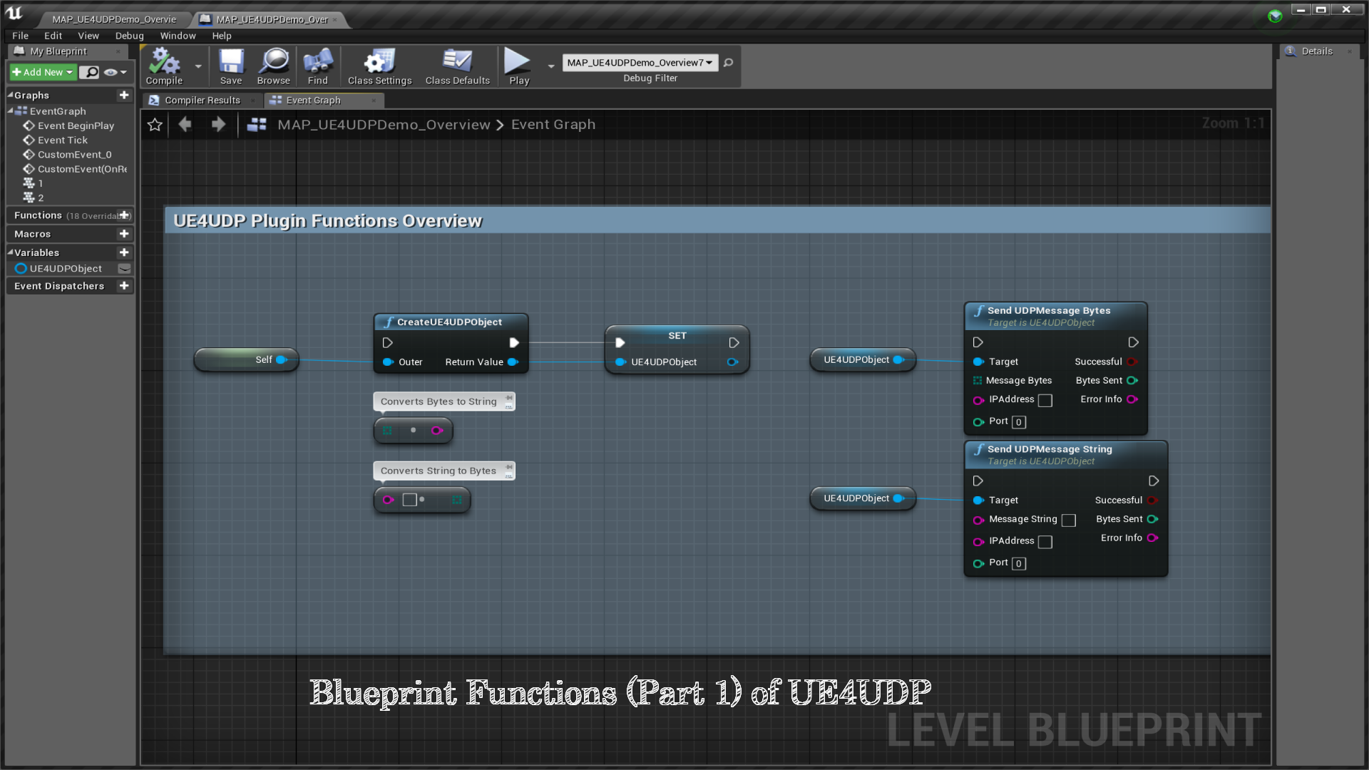 UE4UDP (UDP Feature For UE4) by LiamLewis in Code Plugins