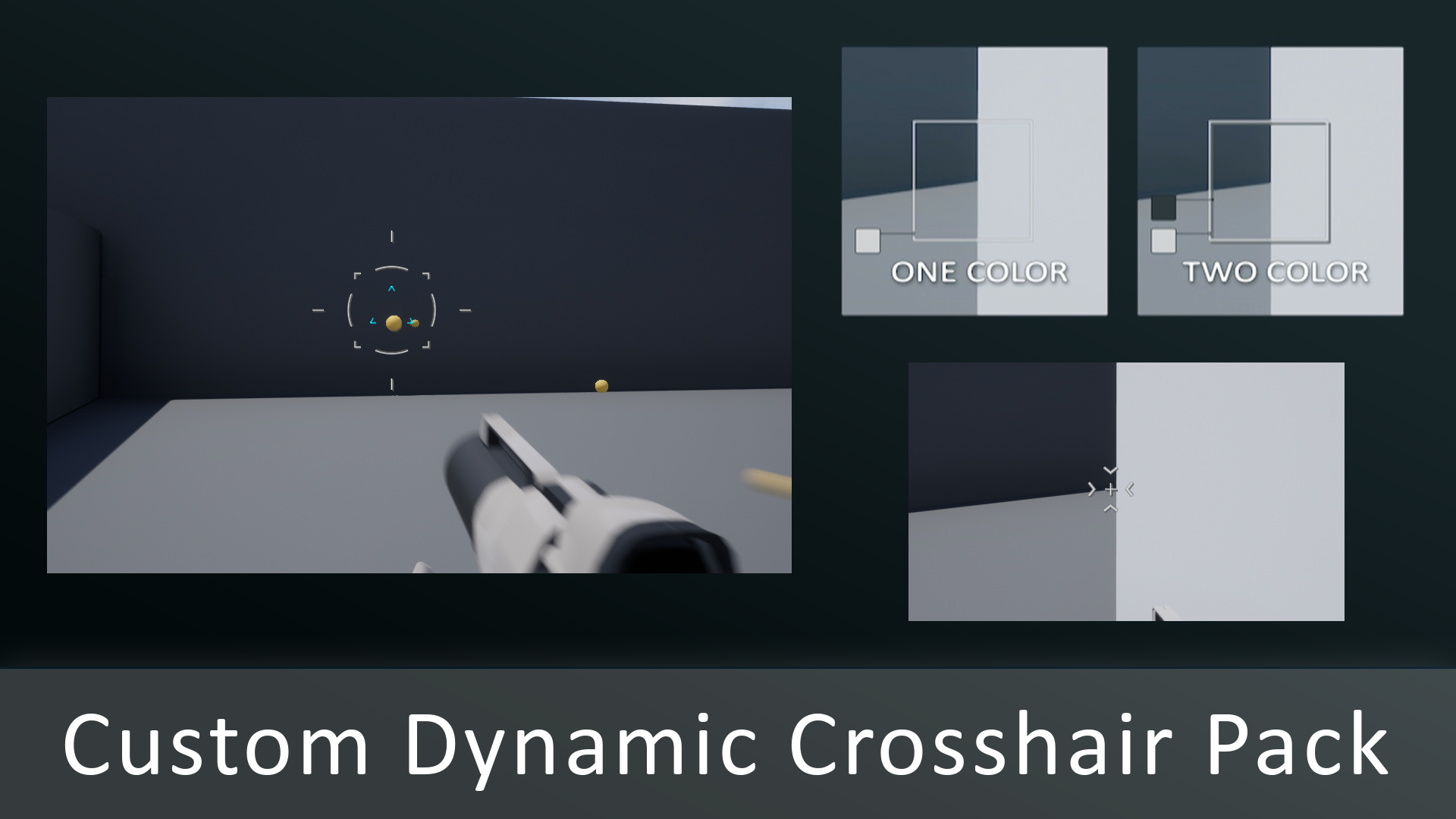 Custom Dynamic Crosshair Pack by IUMTEC in Materials - UE4 Marketplace