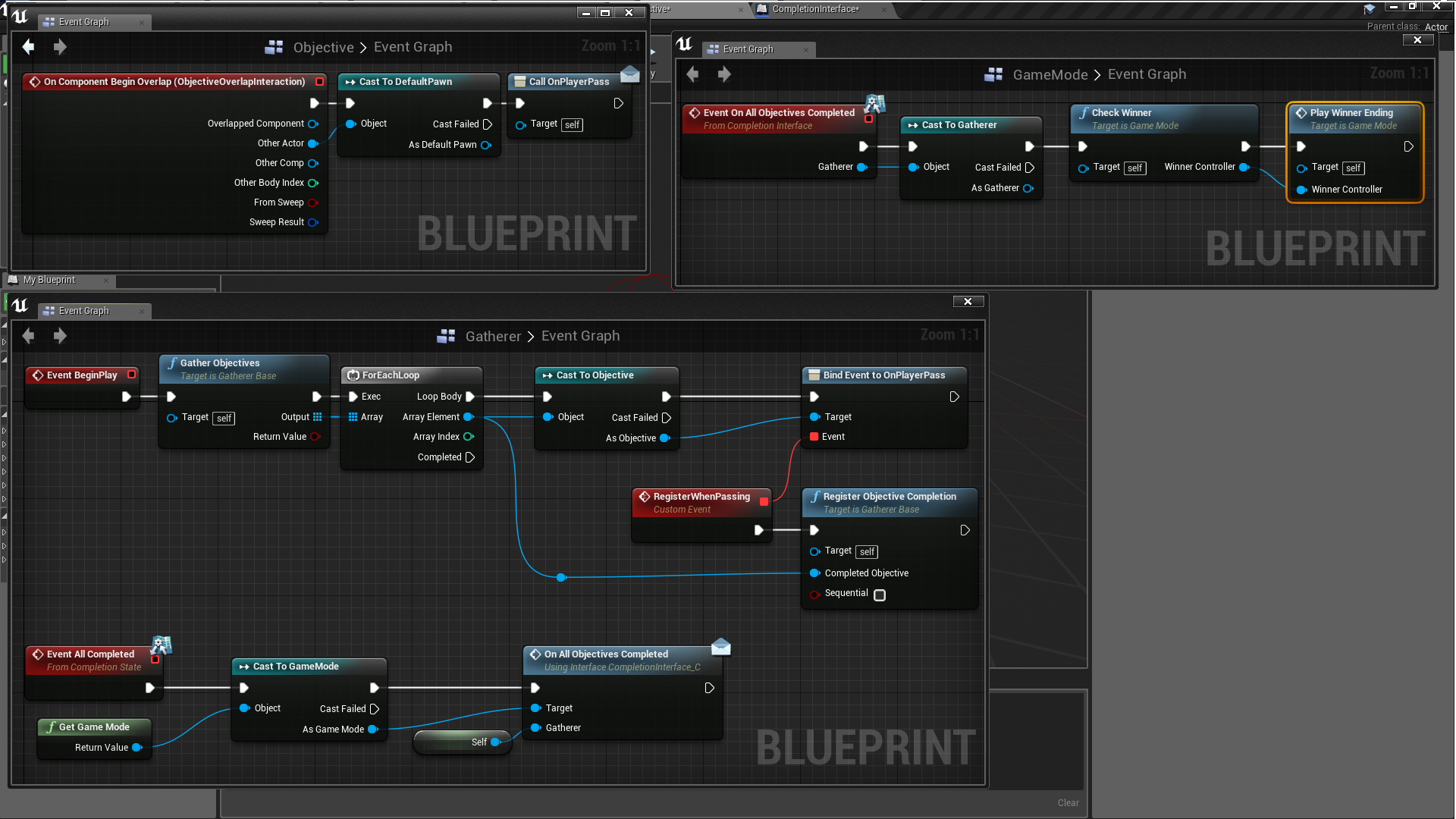 Objective management system by rain in code plugins ue4 marketplace share malvernweather Gallery