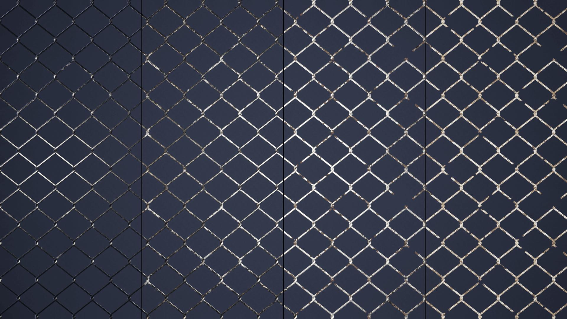 Metal Materials - Cutouts by David Zygmunt in Materials - UE4