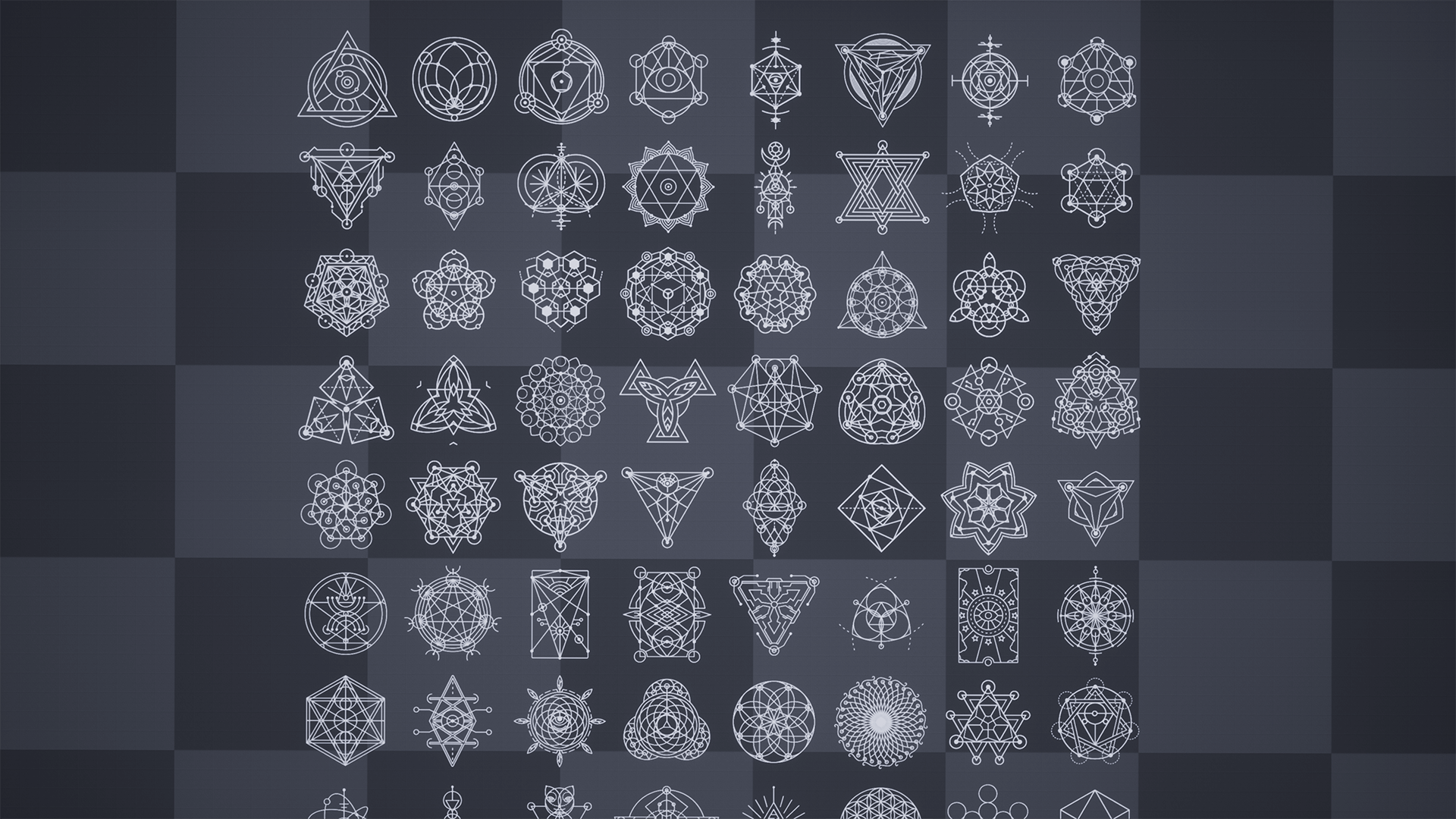 hg sacred geometry decals vol 1 hotgates テクスチャー ue4