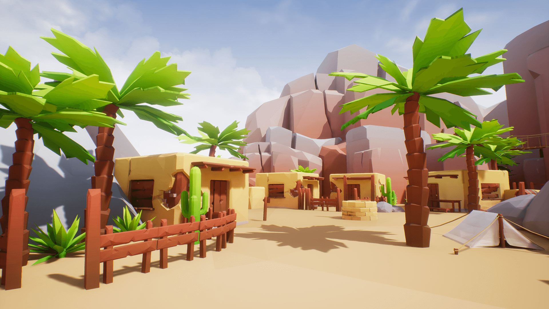 Lowpoly Style Ultra Pack by CH Assets in Environments - UE4