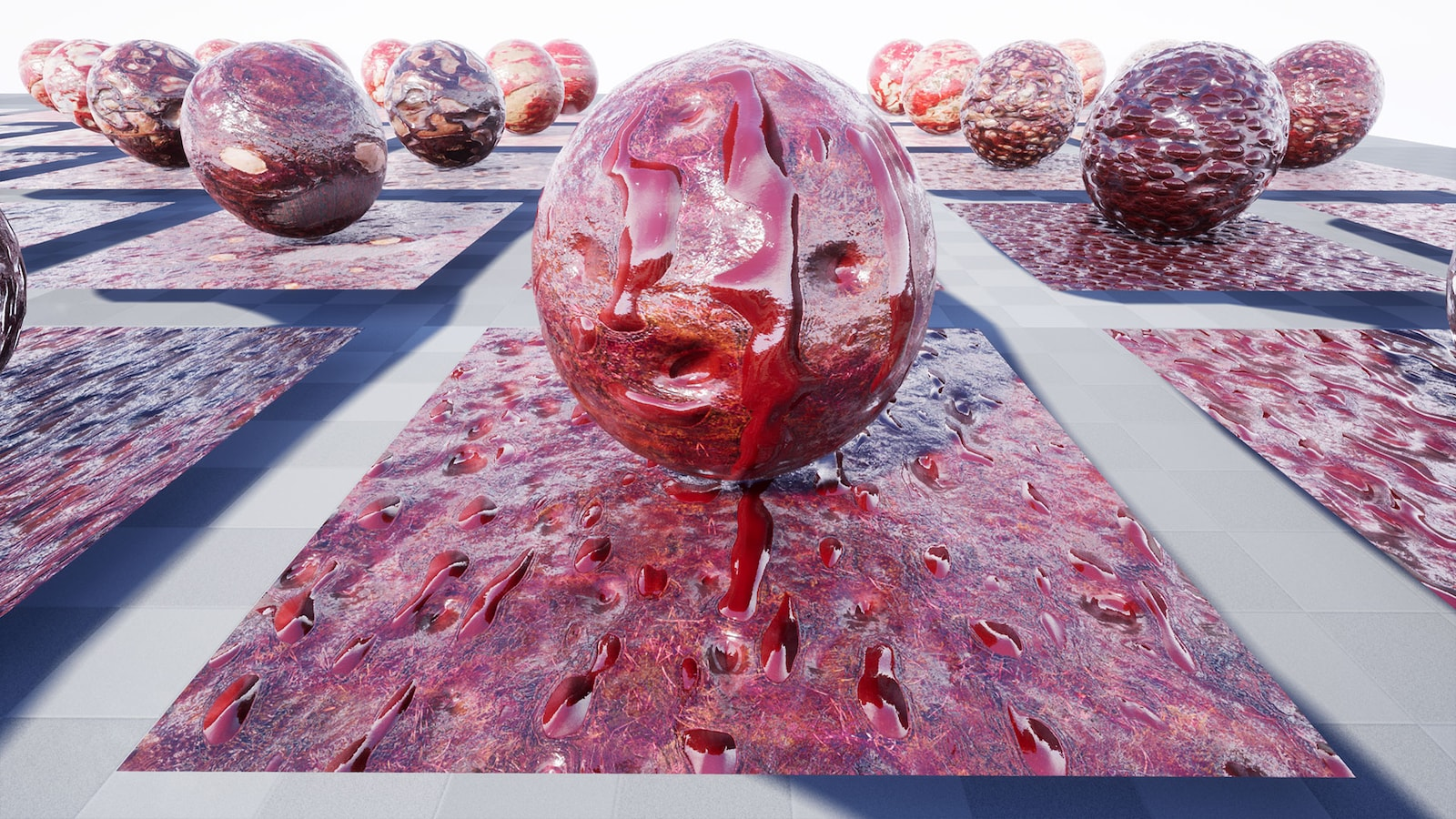 Zombie Skin by 3D Virtualand in Materials - UE4 Marketplace