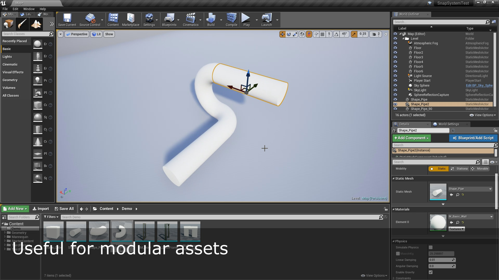 Modular Snap System by Inu Games in Code Plugins - UE4