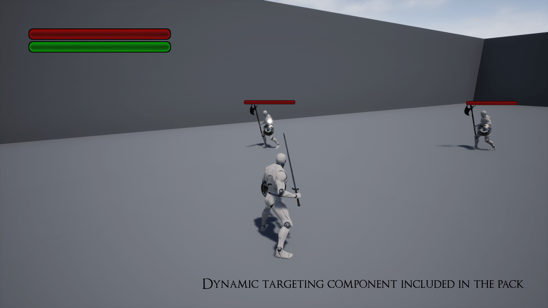 Unreal Engine 4] Dynamic Combat System [Blueprints]   Board4All