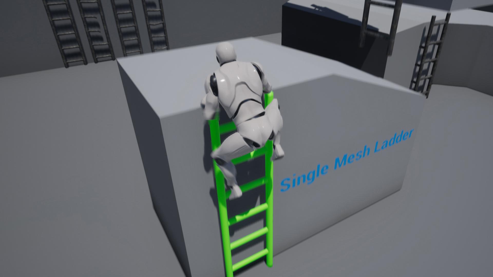 Anther Ladder 在blueprints中由immortal hand studios创建的ladder system