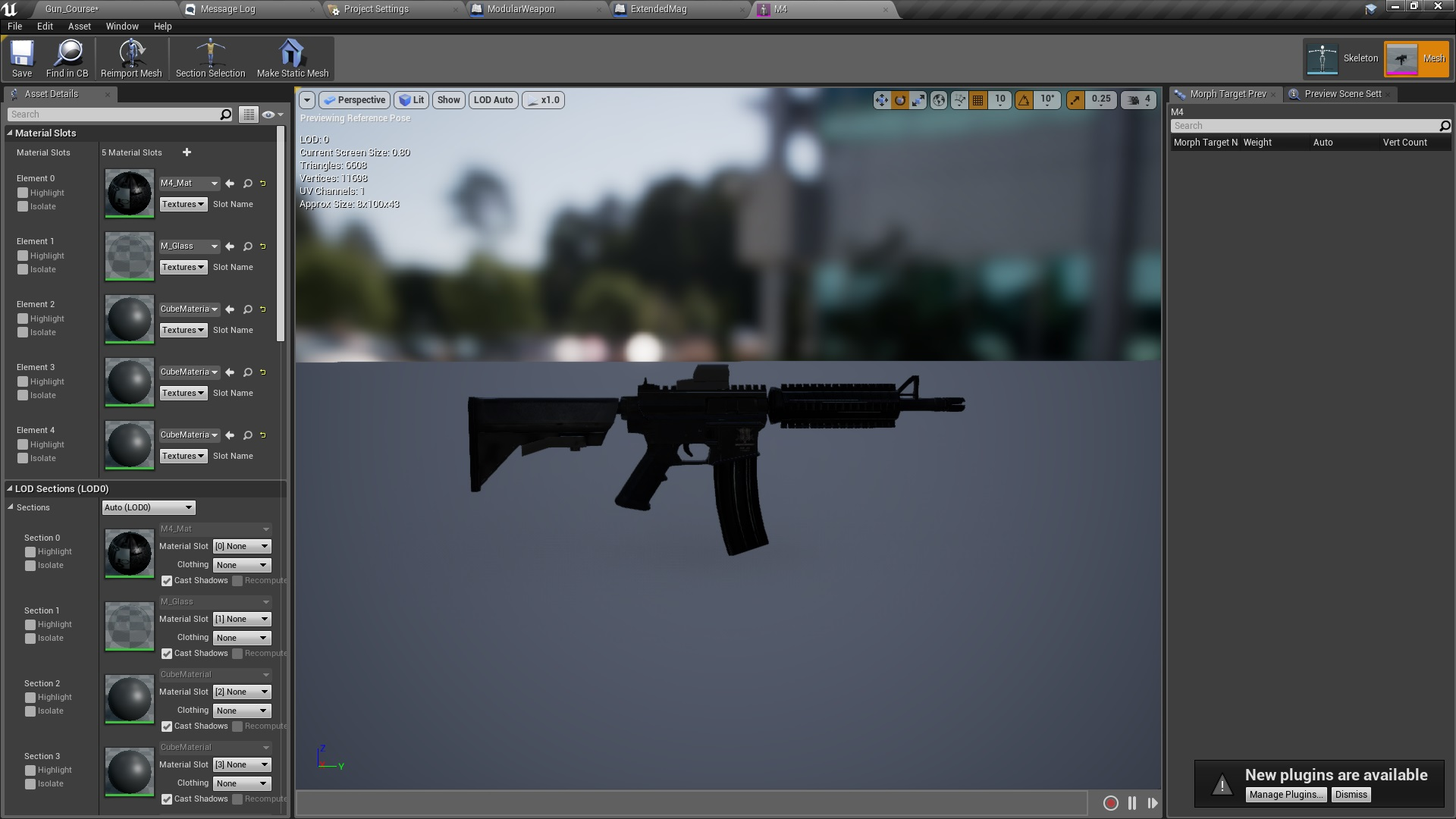 Realistic Blueprint Weapons by Black Works in Blueprints - UE4 ...