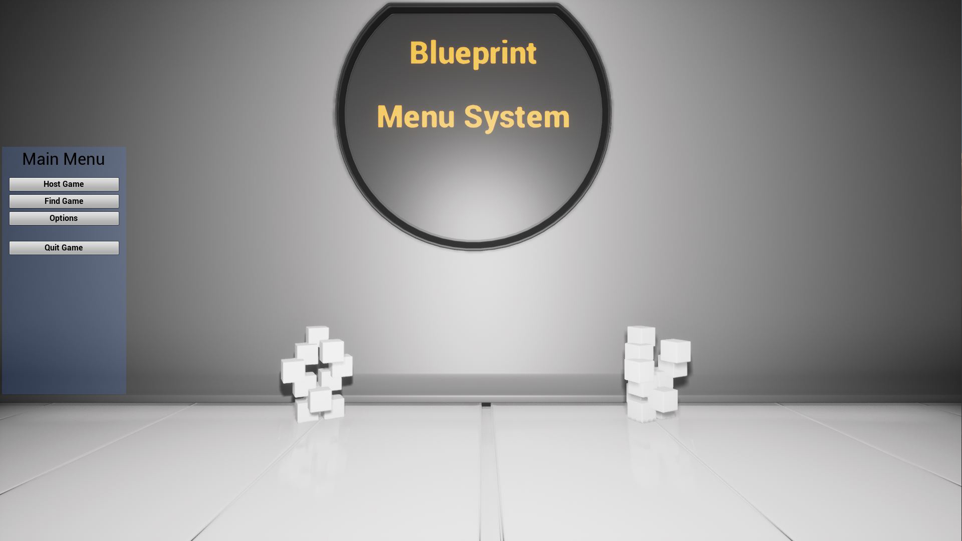 Blueprint Menu System by Codie in Blueprints - UE4 Marketplace
