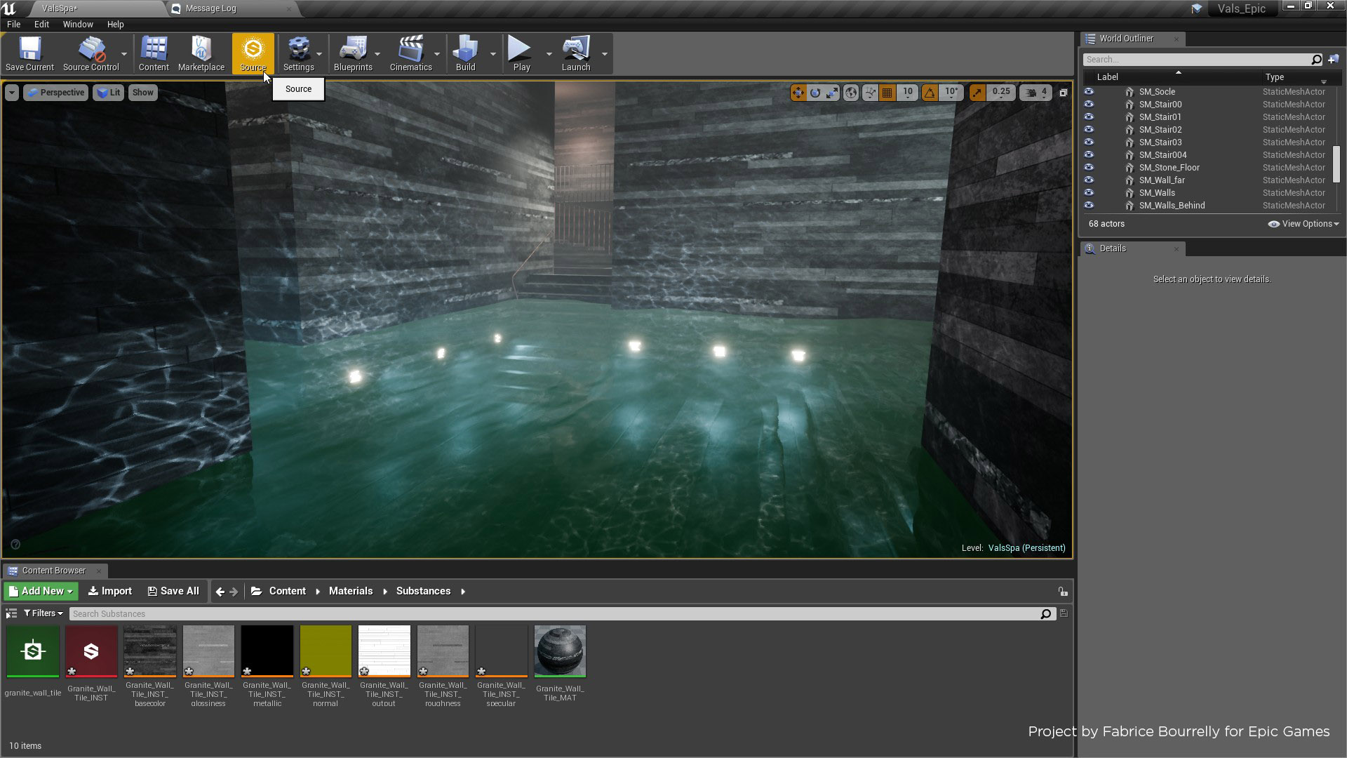 Substance in Unreal Engine by Allegorithmic in Code Plugins - UE4