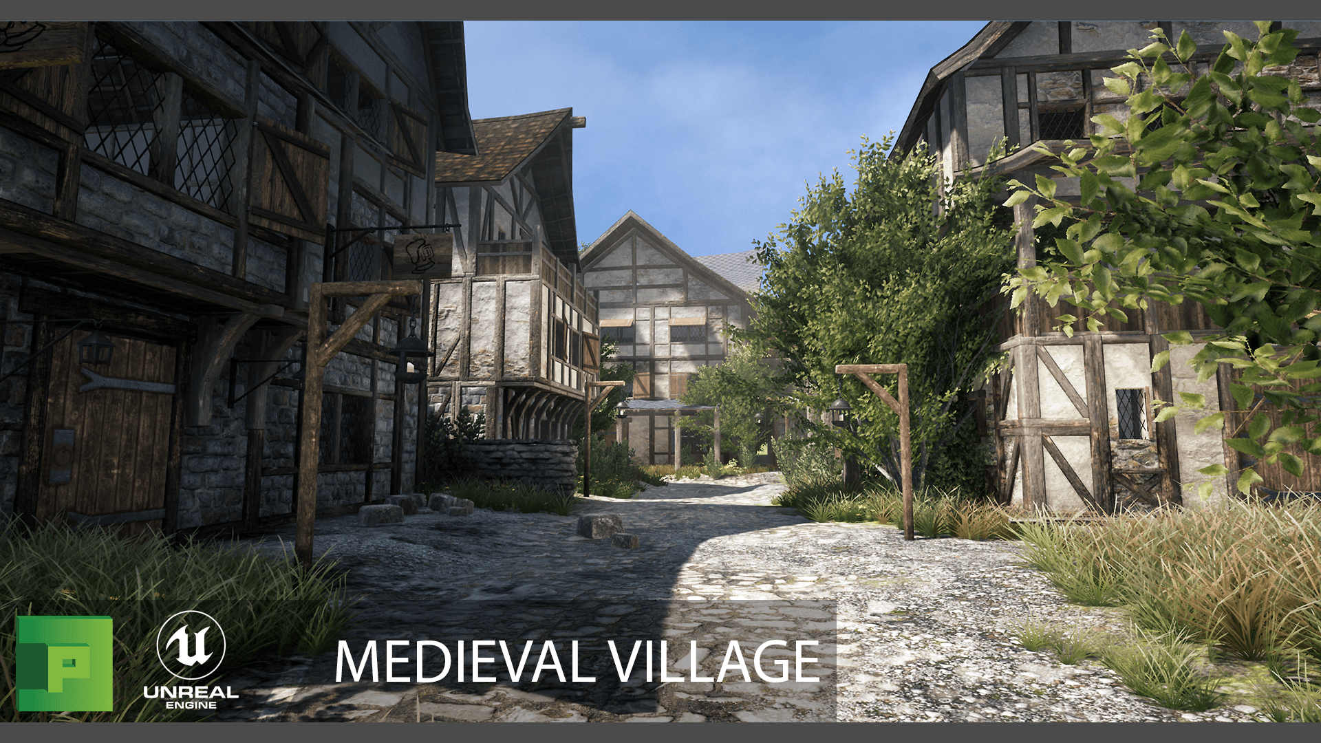 Medieval Village By Polypixel In Environments Ue4