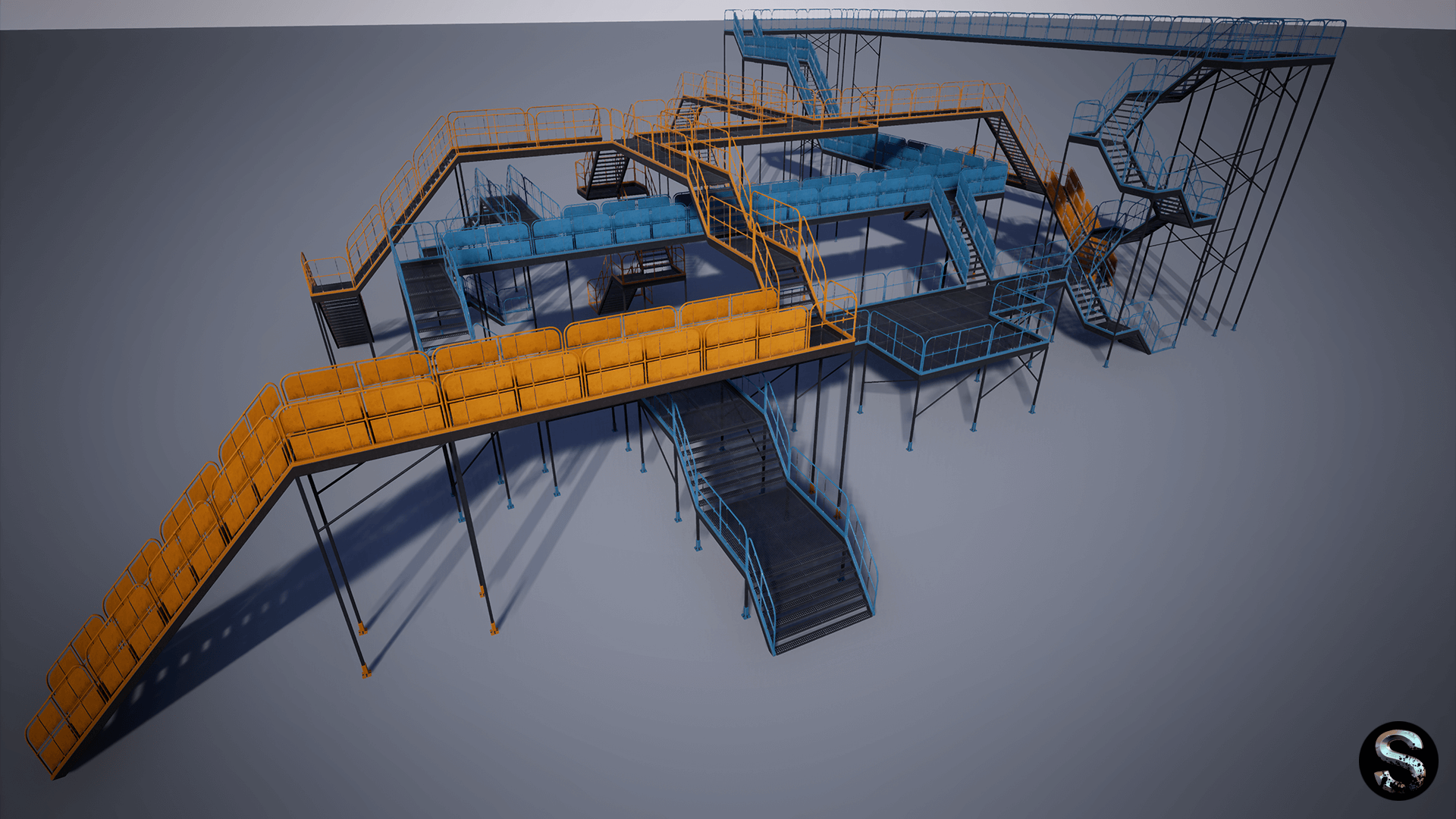 Modular Platform by SilverTm in Props - UE4 Marketplace