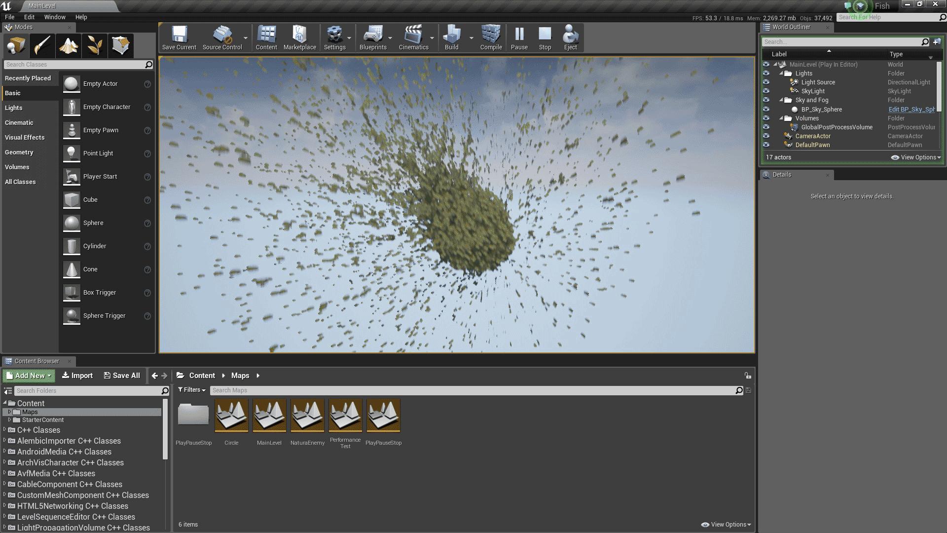 Multi Thread Flock Fish by JILEI ZHAO in Code Plugins - UE4 Marketplace
