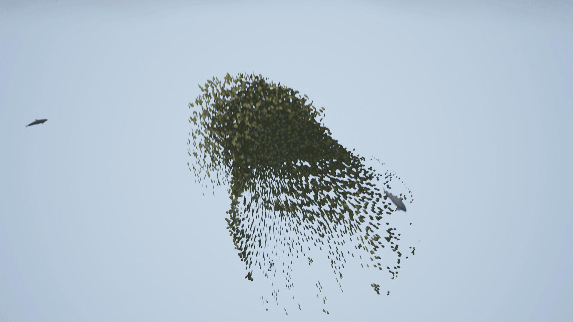 Multi Thread Flock Fish by JILEI ZHAO in Code Plugins - UE4