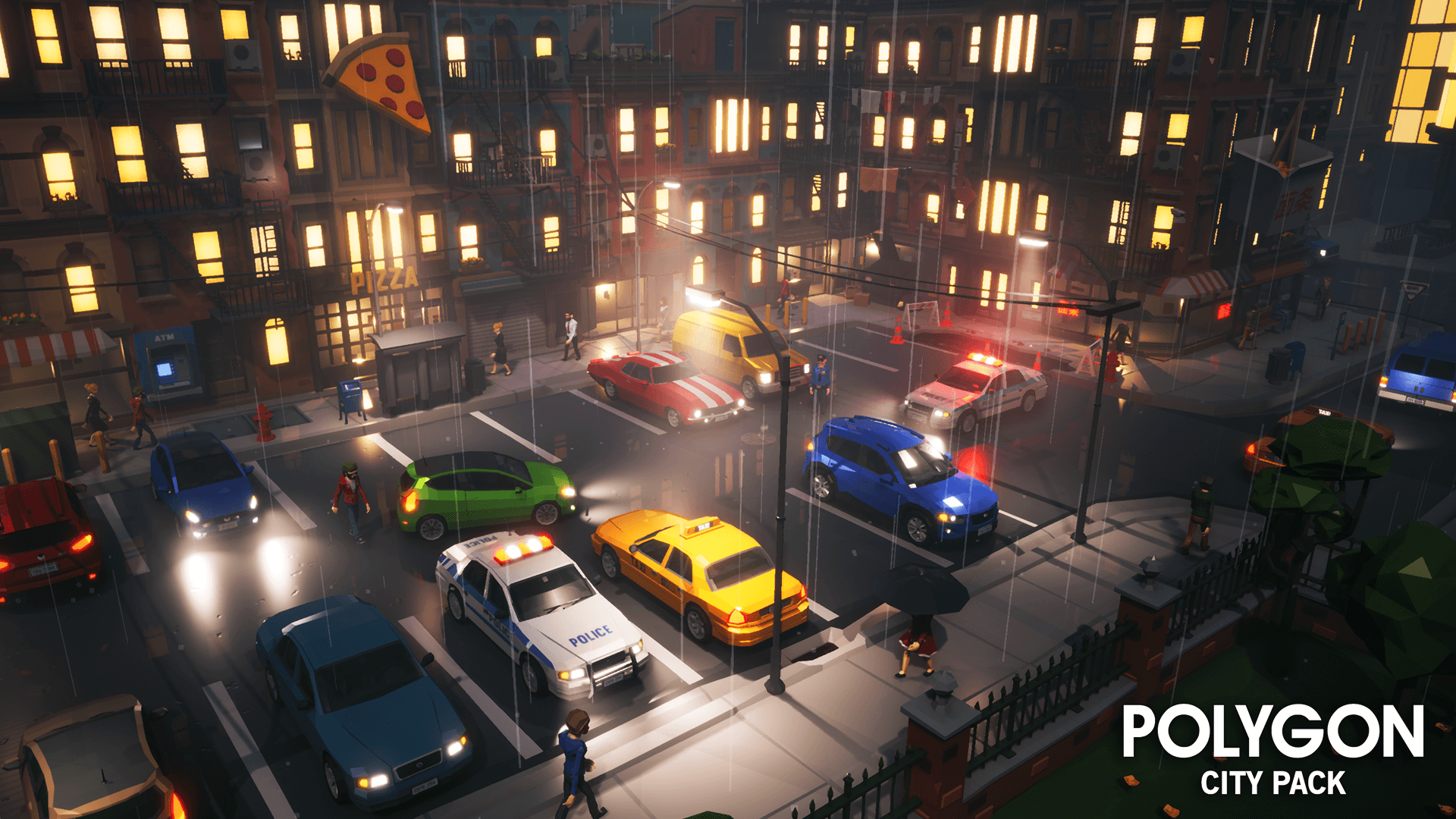 POLYGON - City Pack by Synty Studios in Environments - UE4 Marketplace