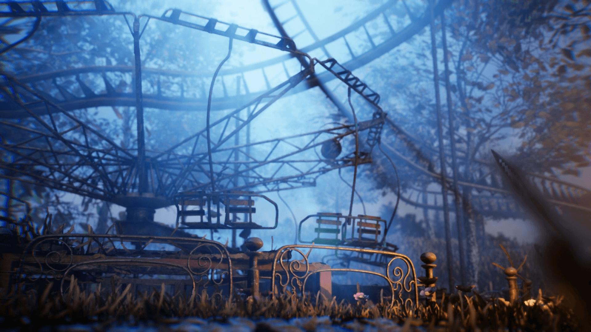 Abandoned Amusement Park In Environments Ue Marketplace