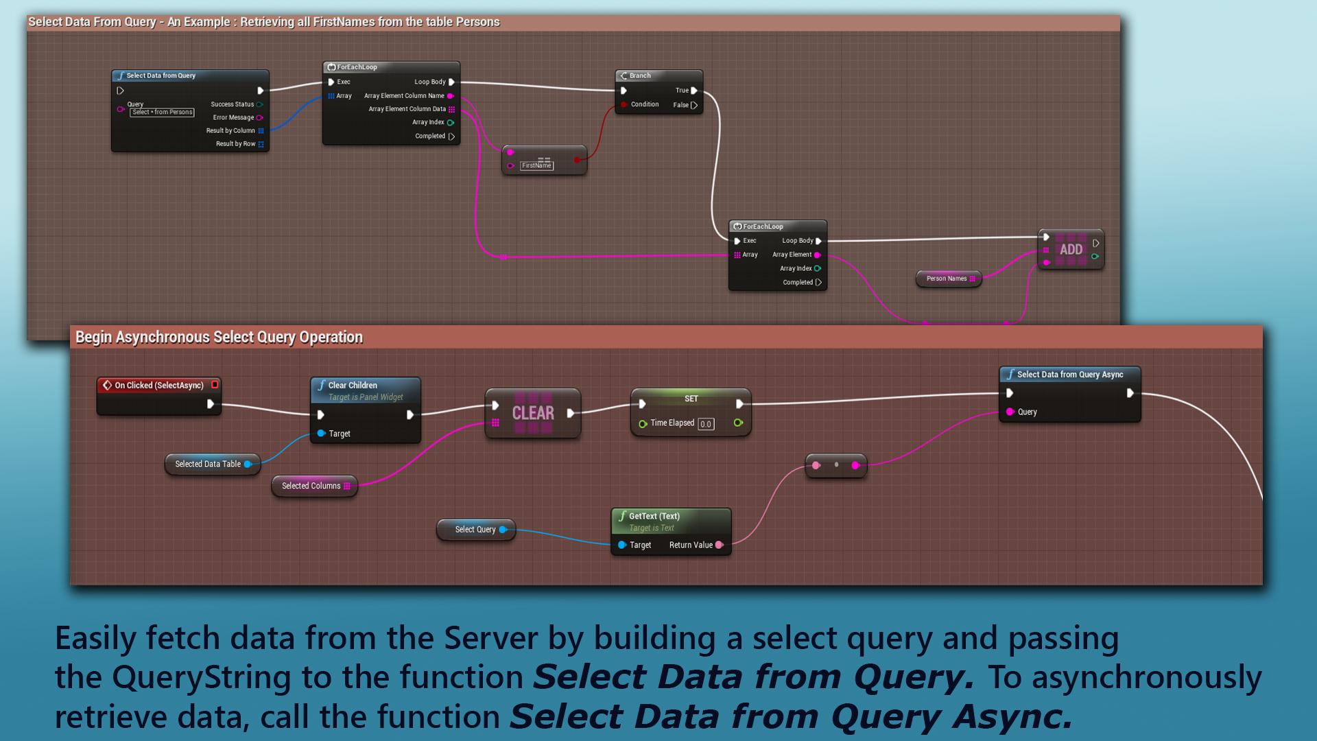 PostgreSQL Integration by Sameek Kundu in Code Plugins - UE4