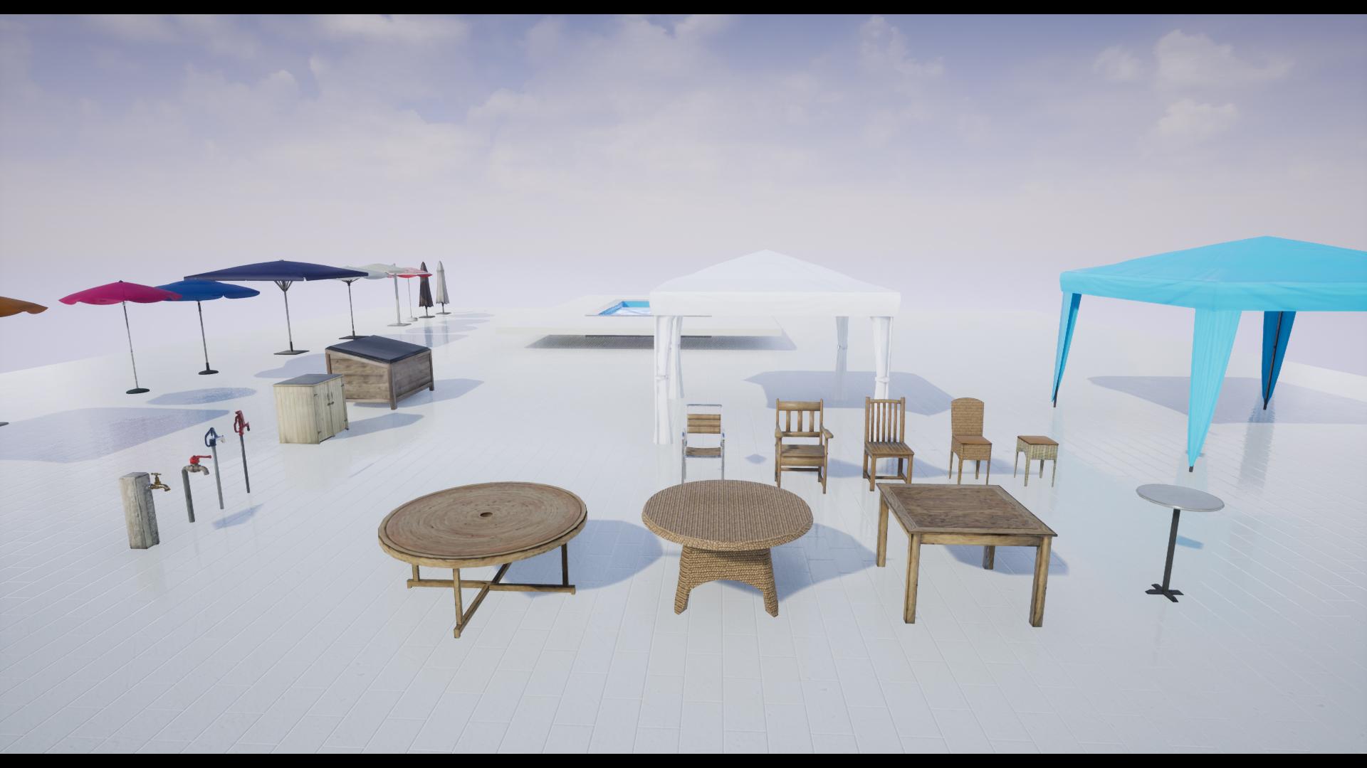 Superb Outdoor Pack Furniture Gazebo Tents Swimming Pool Interior Design Ideas Inesswwsoteloinfo