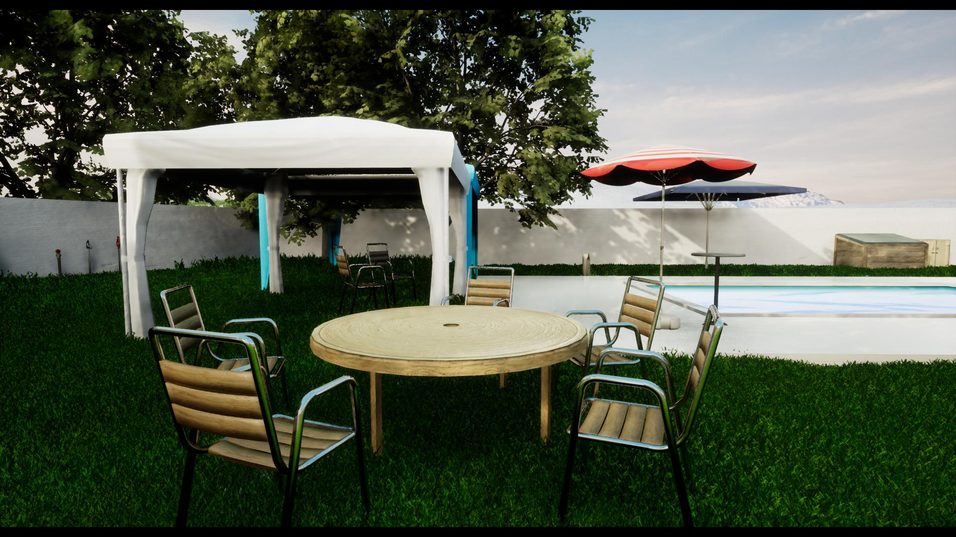 Tremendous Outdoor Pack Furniture Gazebo Tents Swimming Pool Interior Design Ideas Inesswwsoteloinfo