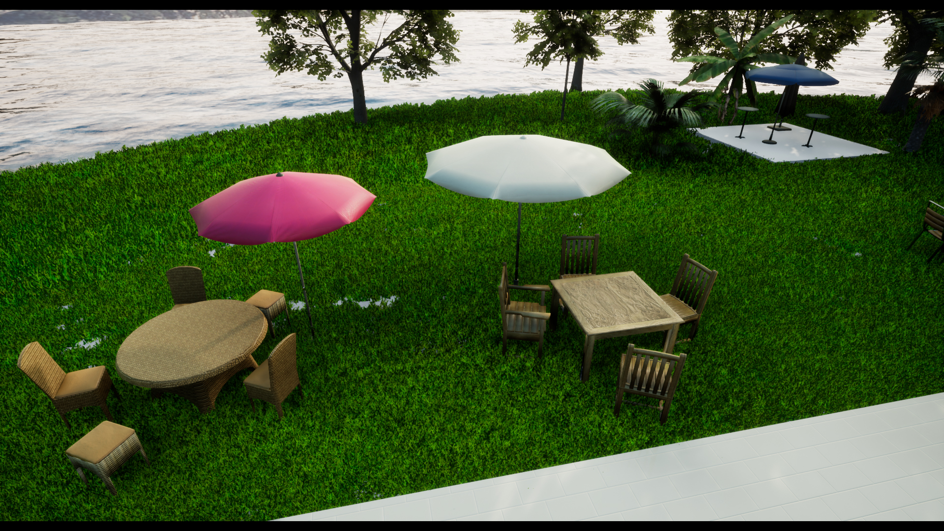 Incredible Outdoor Pack Furniture Gazebo Tents Swimming Pool Interior Design Ideas Inesswwsoteloinfo