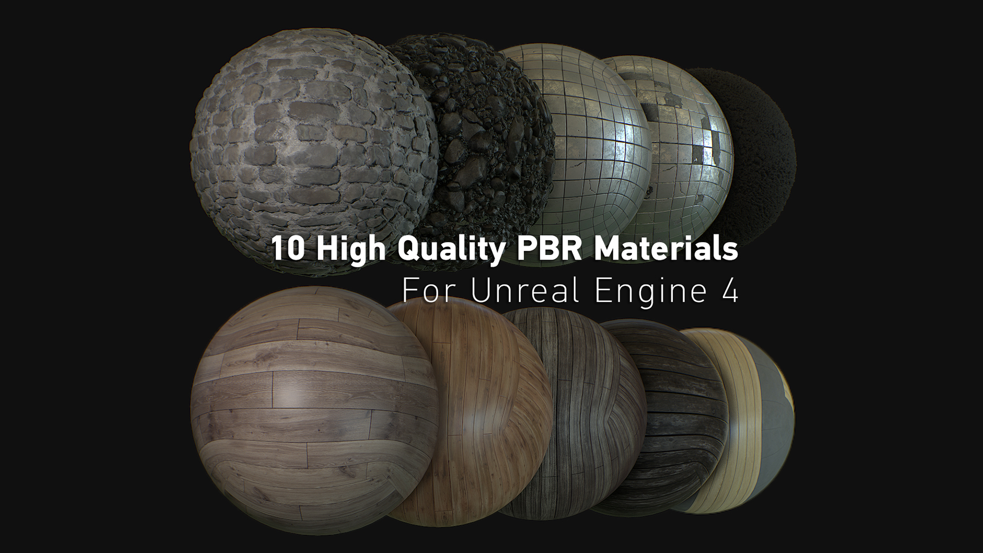 Revo's PBR Texture Bundle by Mark Bos in Materials - UE4 Marketplace