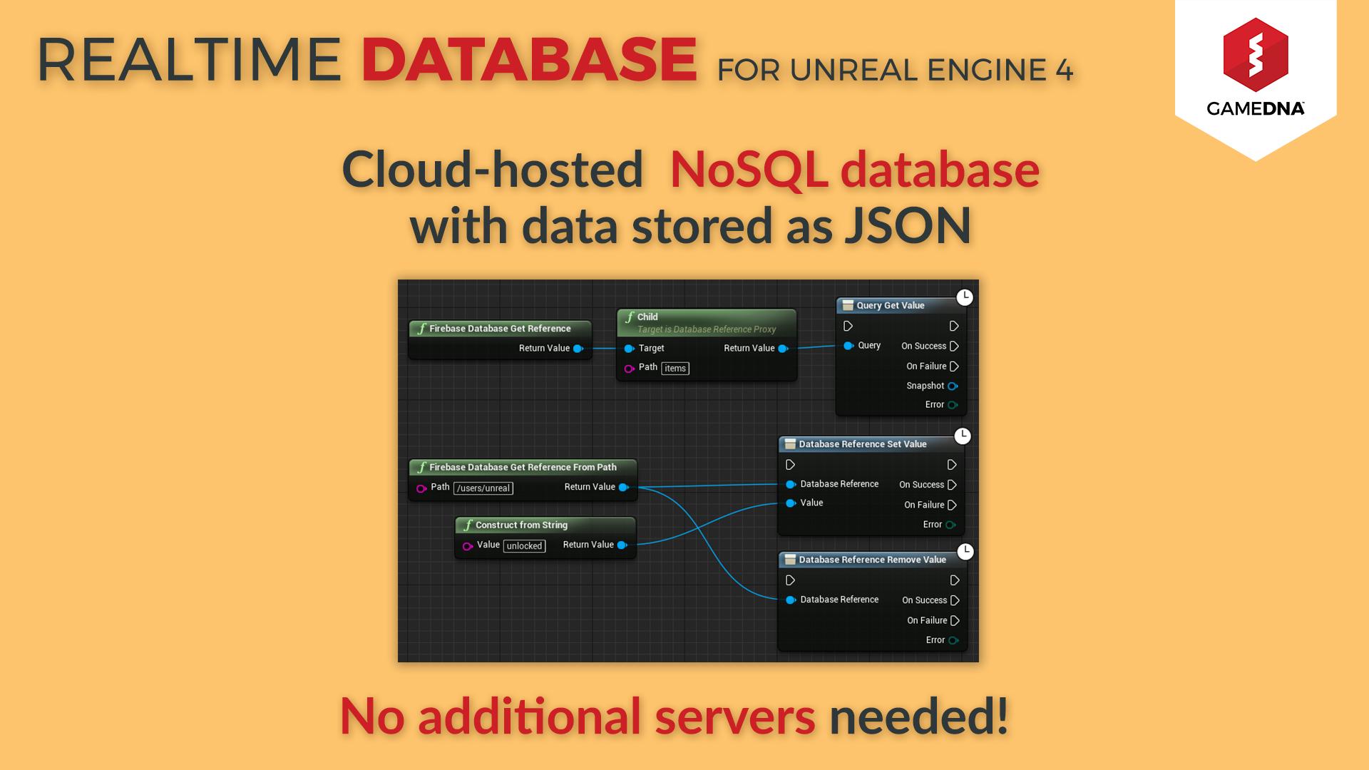 Realtime Database Firebase by gameDNA in Code Plugins - UE4