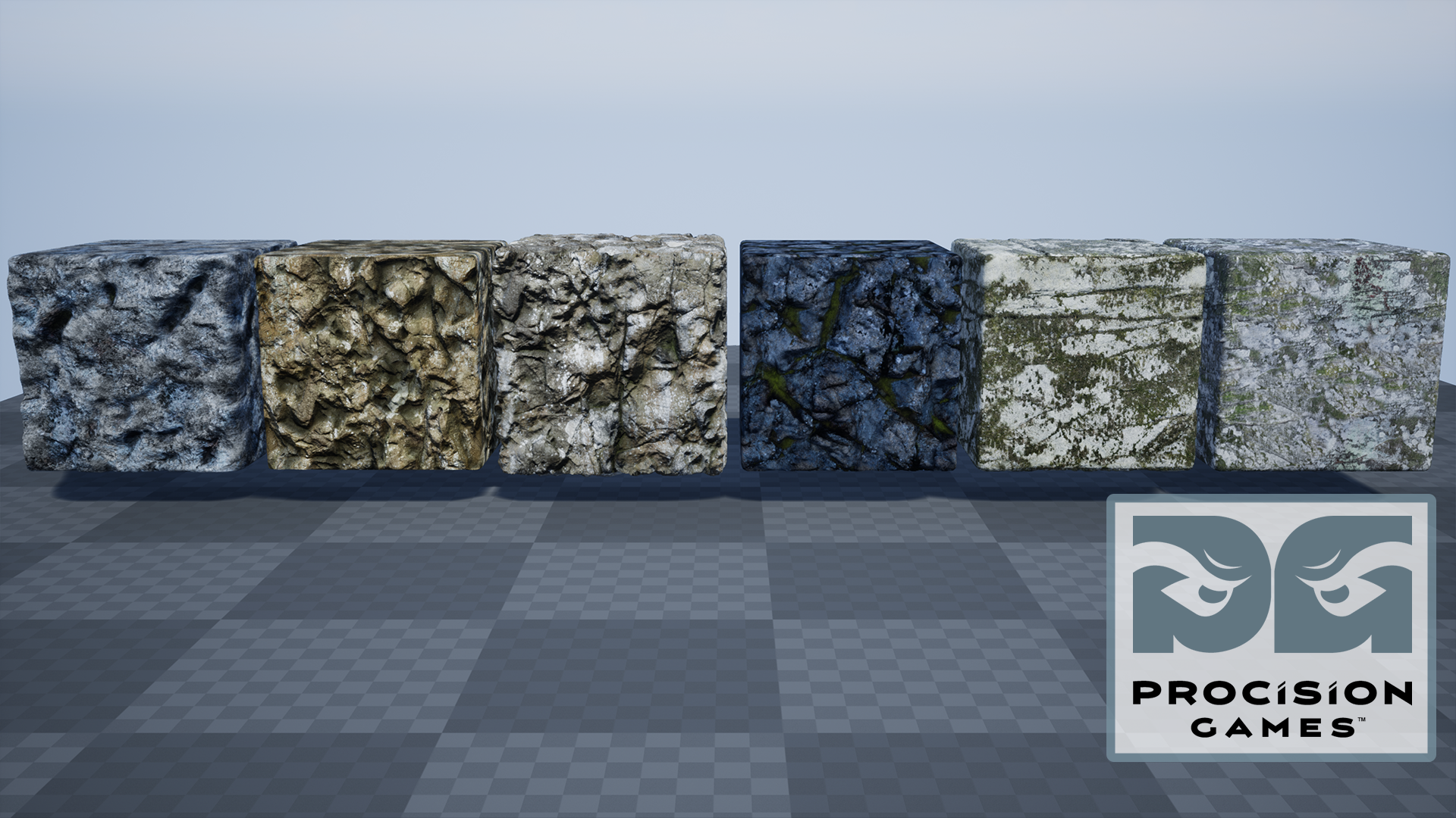 HQ Rock Substances by Procision Games in Materials - UE4 Marketplace