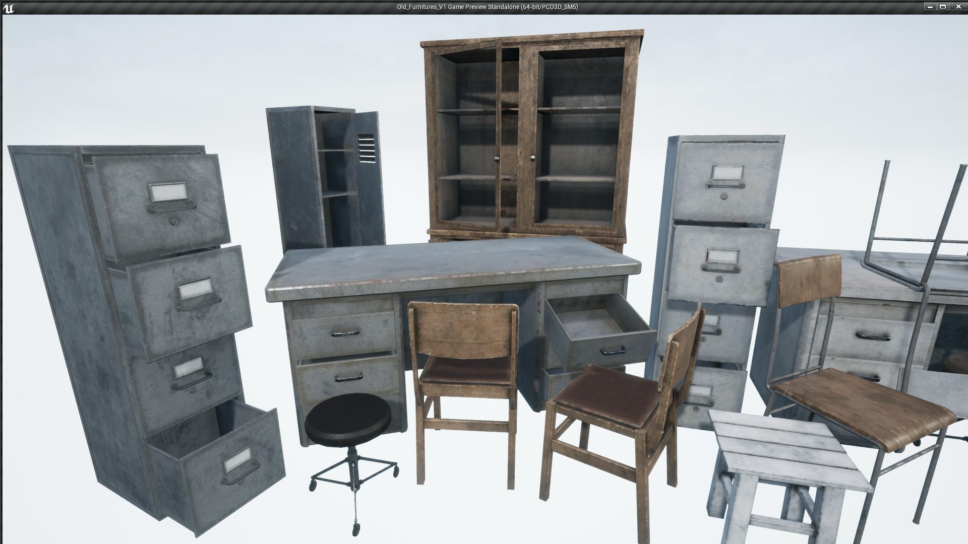 Old Furniture Vol 1