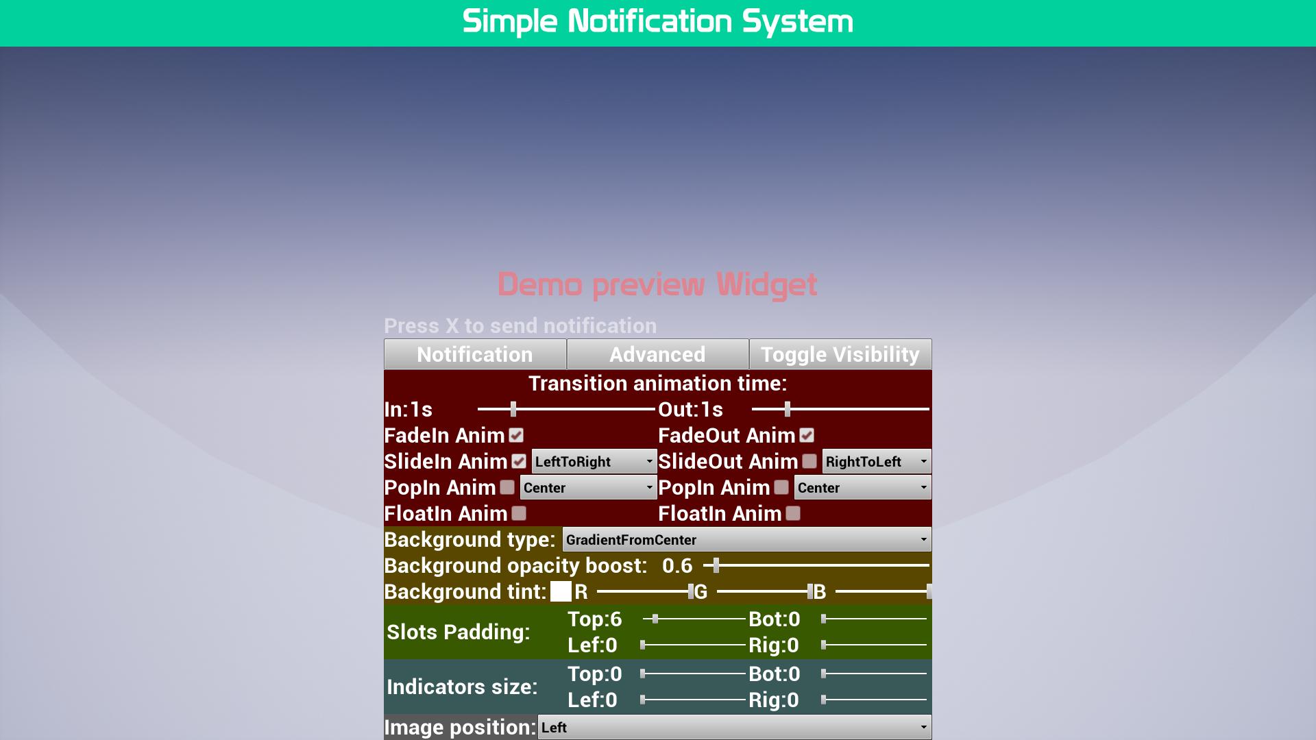 SNSIMG2 1920x1080 76aca85a5e8505b205f7381a4b9f7a43 - Simple Notification System - UE4简单通知系统
