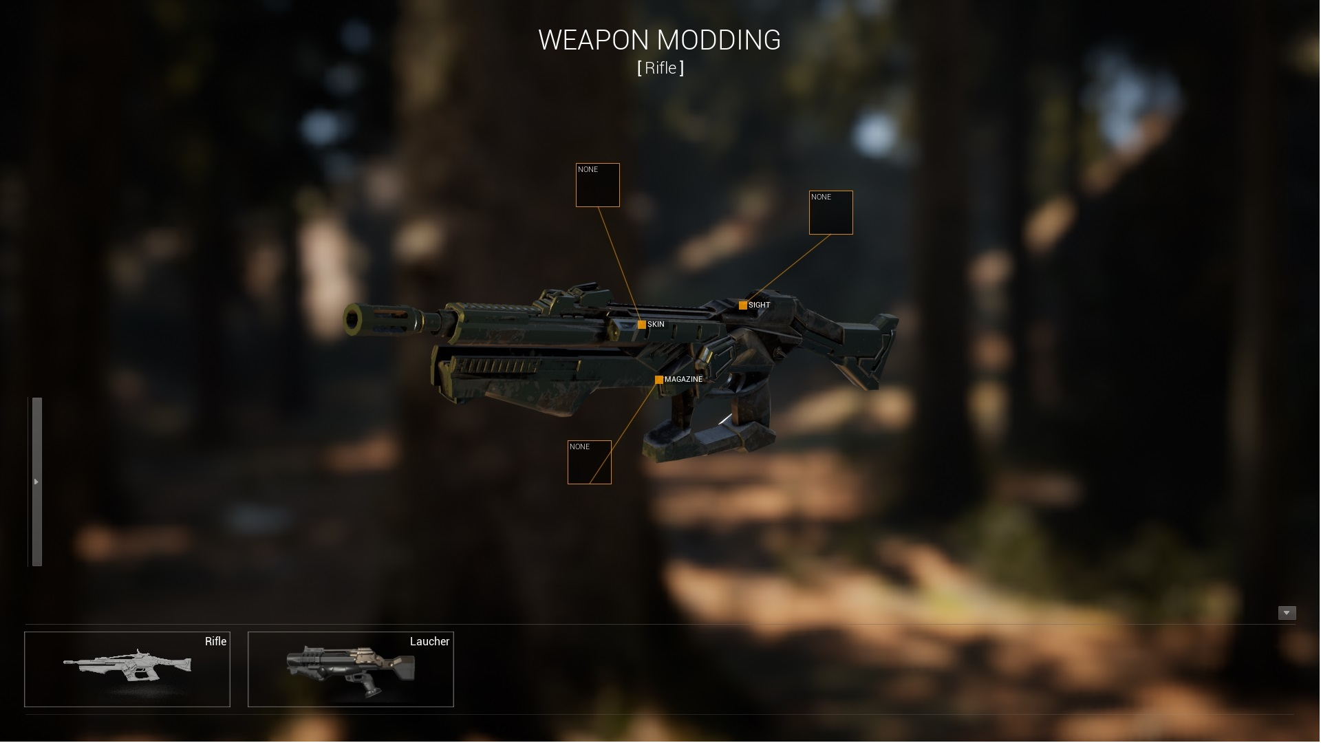 Weapon Customization System by Sertac Ogan in Blueprints
