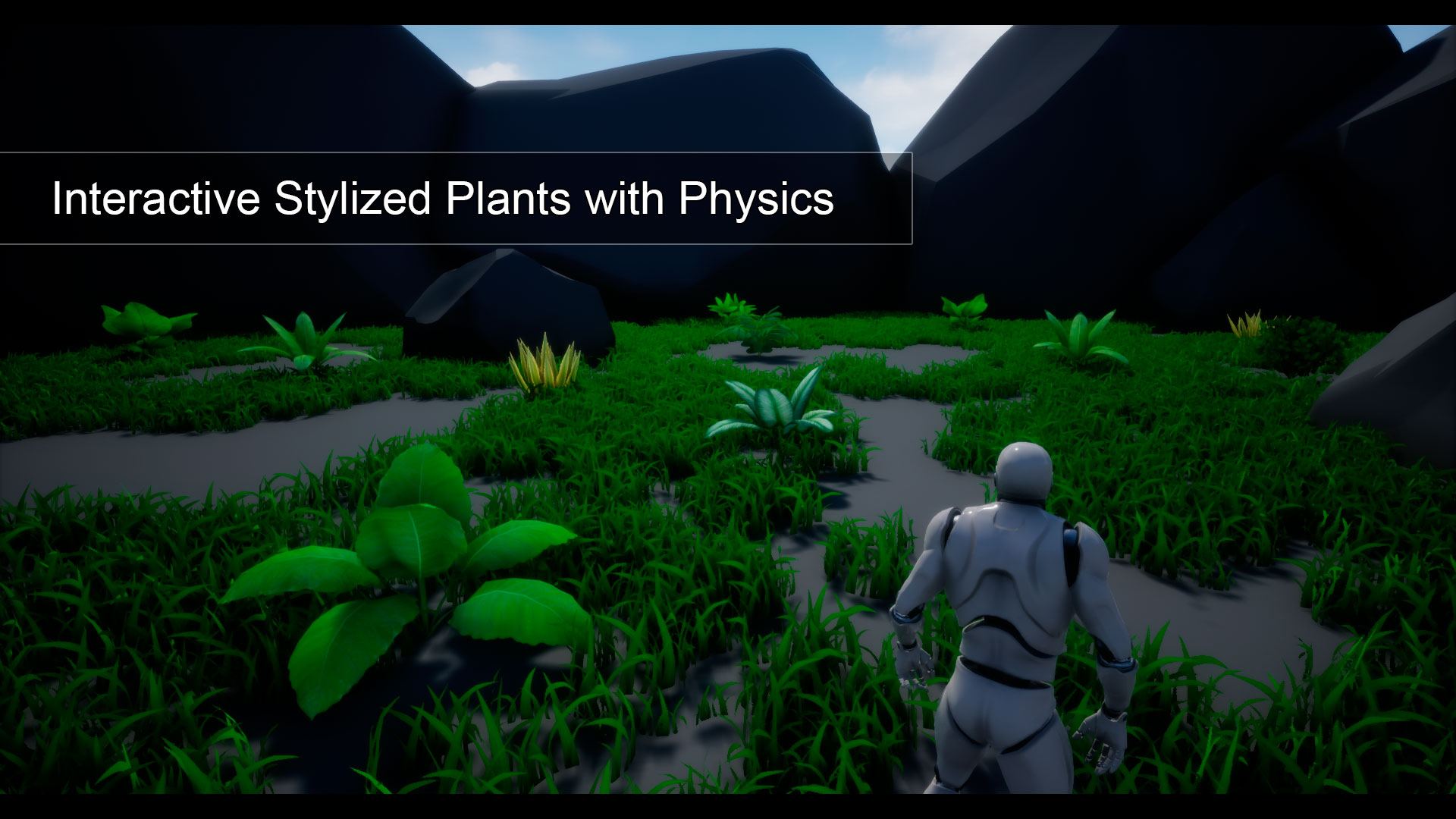 Interactive Stylized Plants With Physics For Video Games By 3d