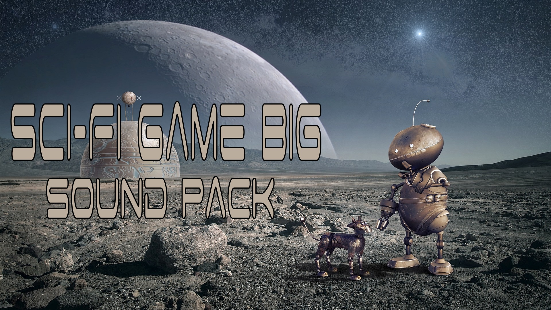 Sci-Fi Game Big Sound Pack by Mechanics Mechanics in Sound