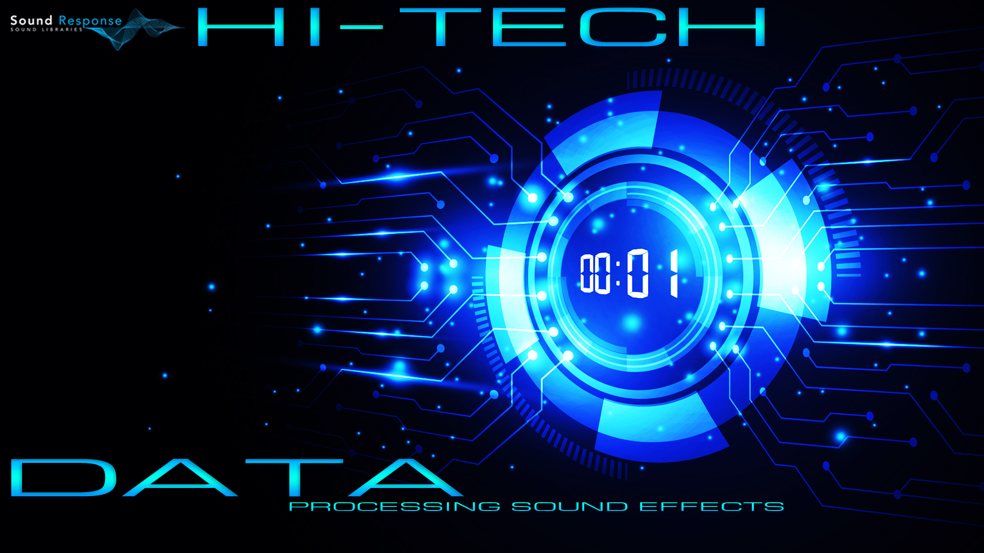 Hi-Tech Data Processing Sci-Fi Sound Effects by Sound