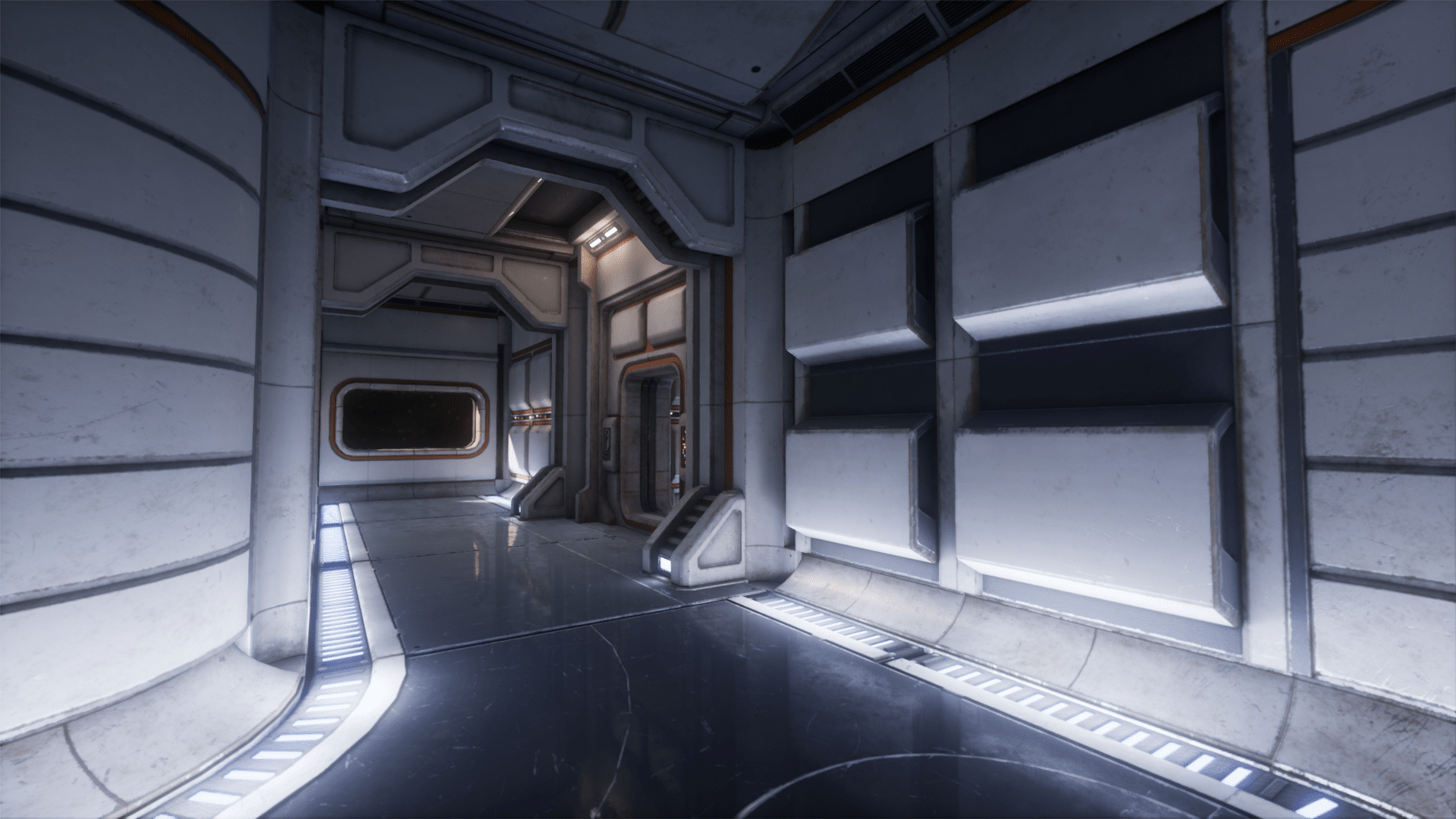 sci fi interior asset pack 1 by rickknox in environments ue4 marketplace. Black Bedroom Furniture Sets. Home Design Ideas