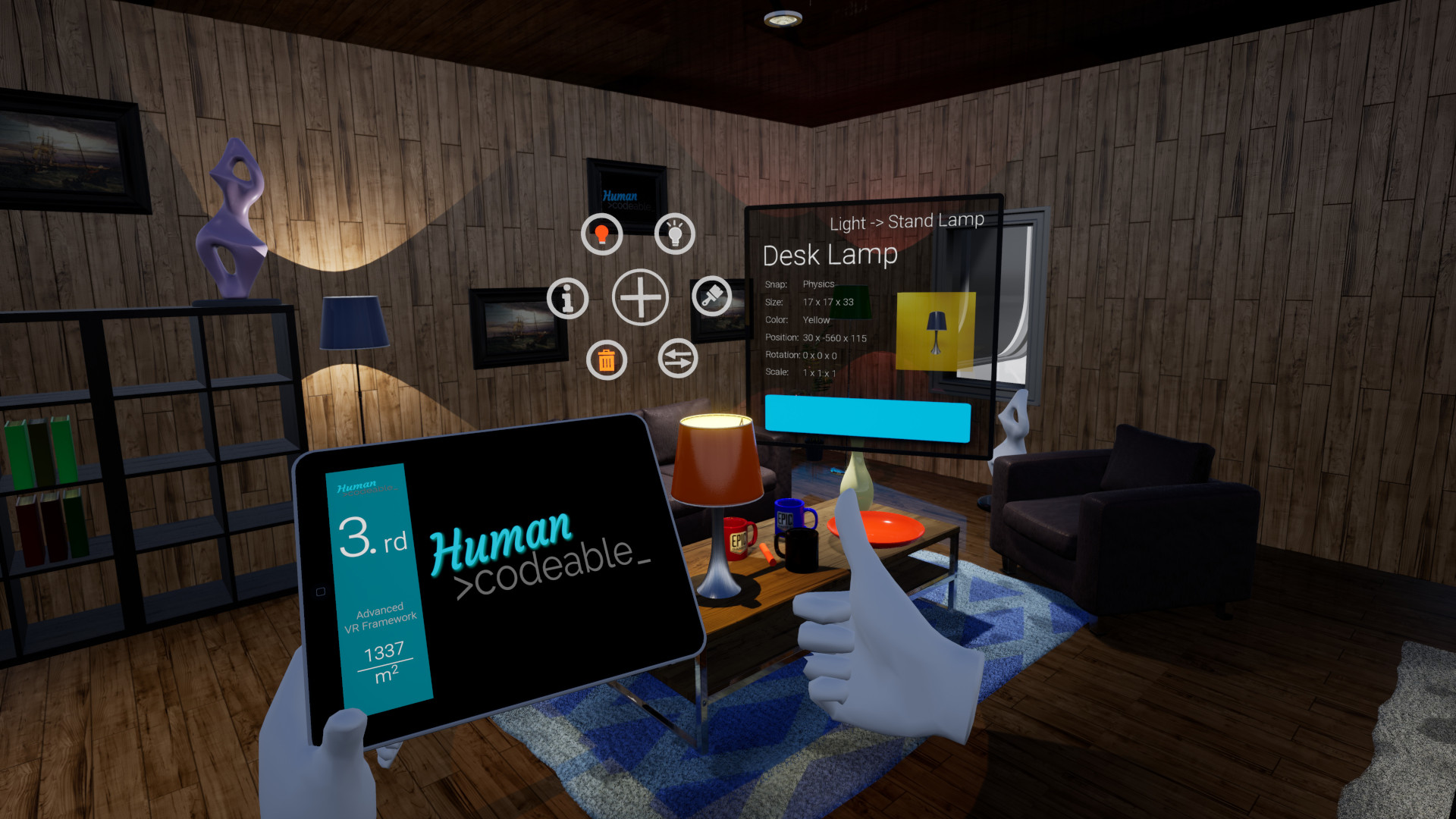 Advanced VR Framework by Human Codeable in Blueprints - UE4 Marketplace
